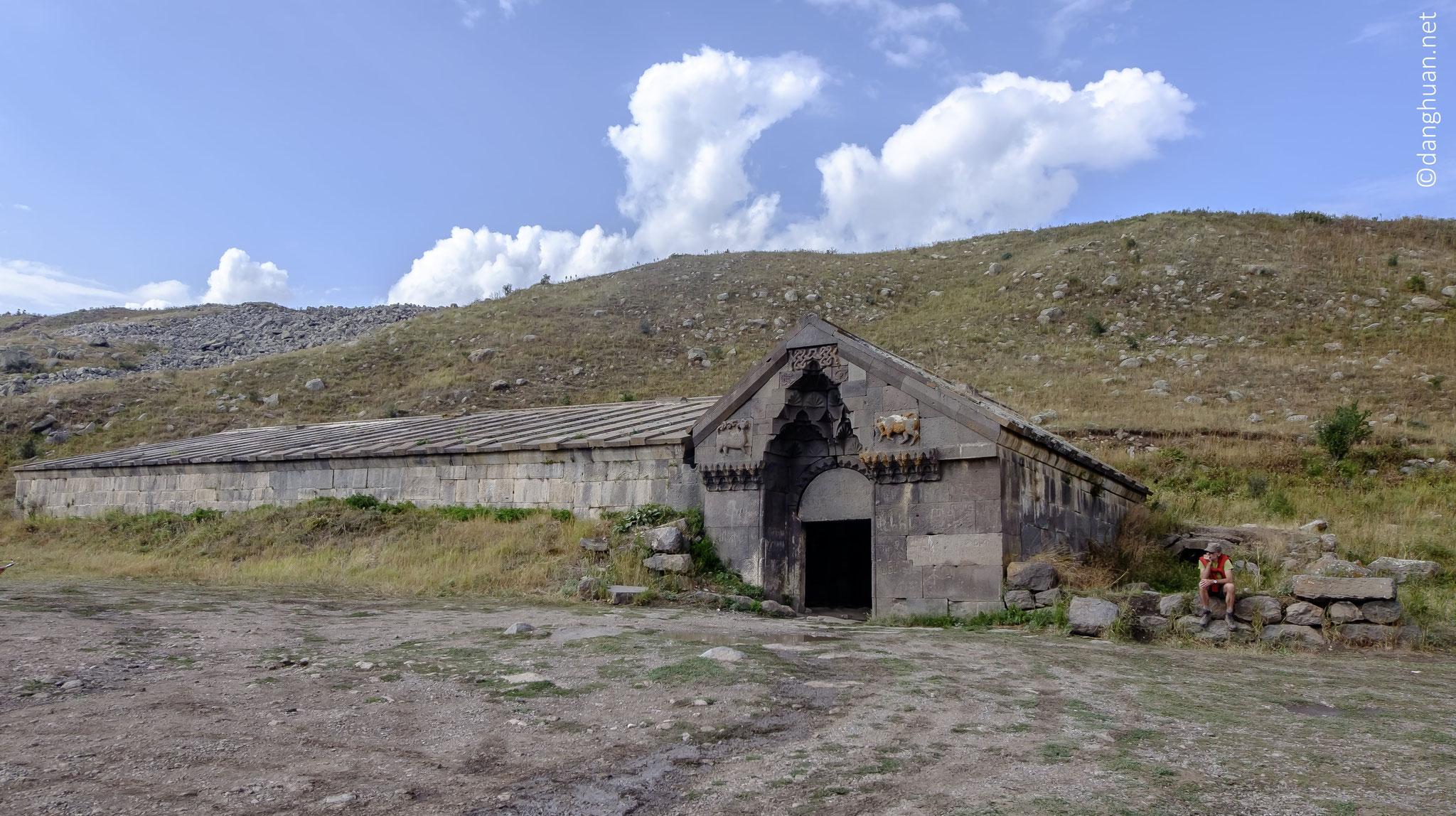 le caravansérail de Sélim (1332m) ...
