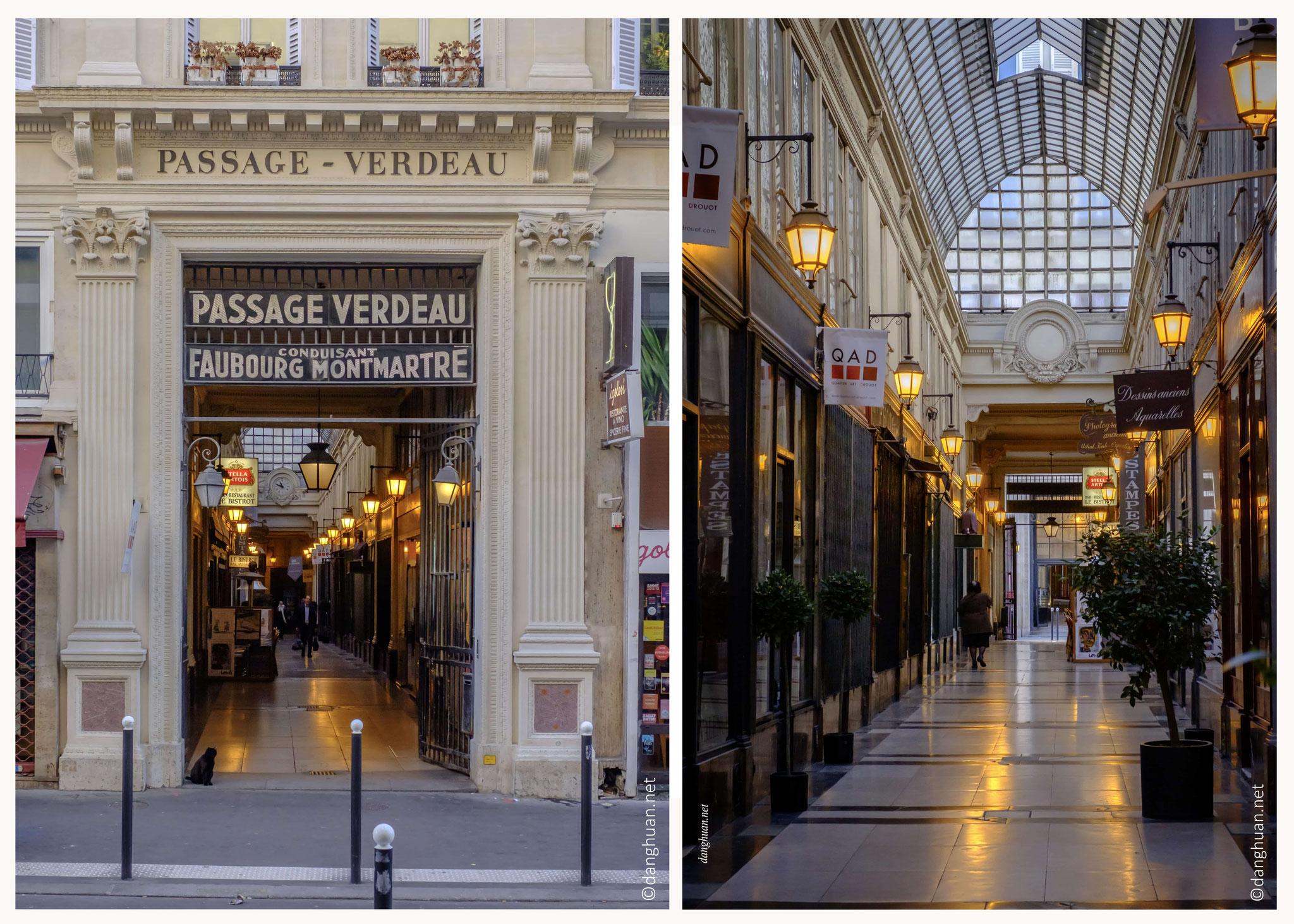 Passage Verdeau : construit en 1847, ce passage est l'un des plus charmants de Paris ...