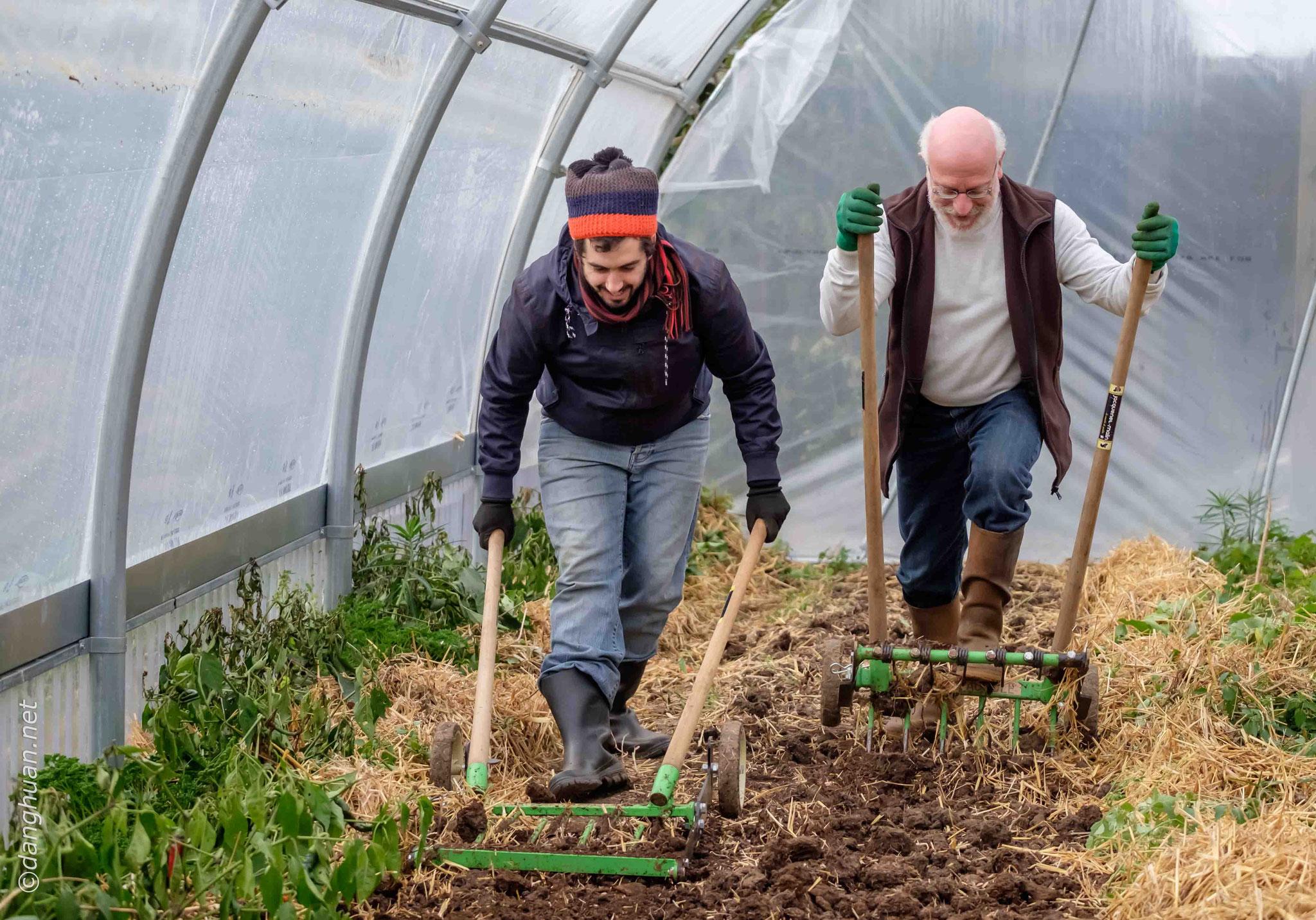 Préparer la terre pour la prochaine plantation