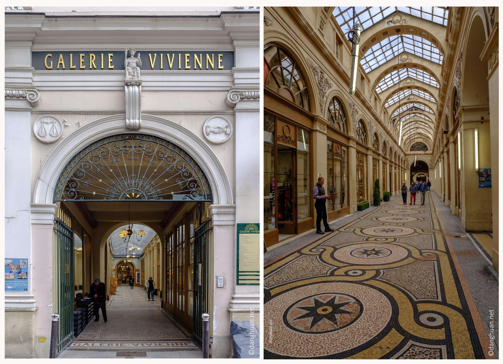 Galerie Vivienne : construite en 1823...