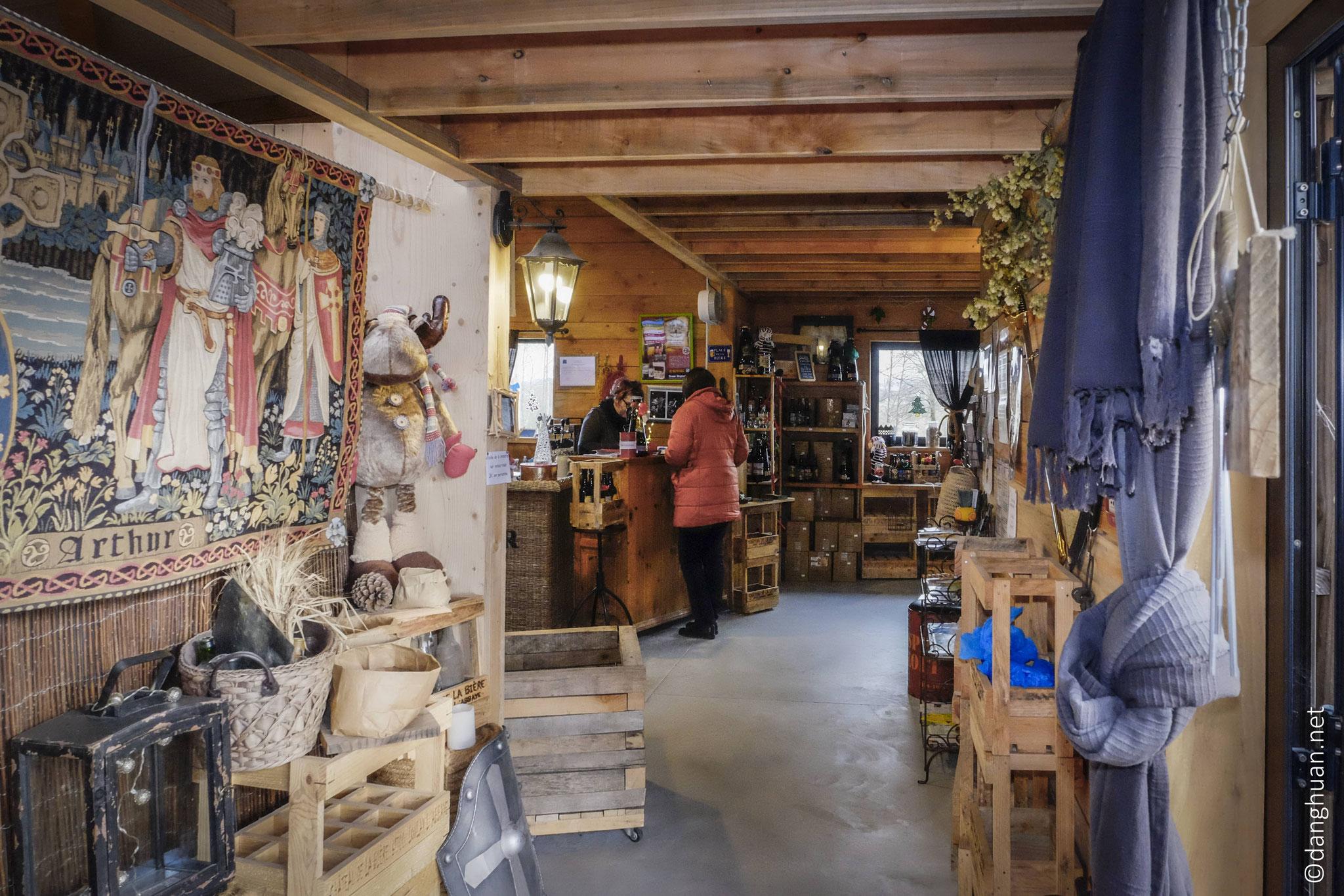 La boutique du château