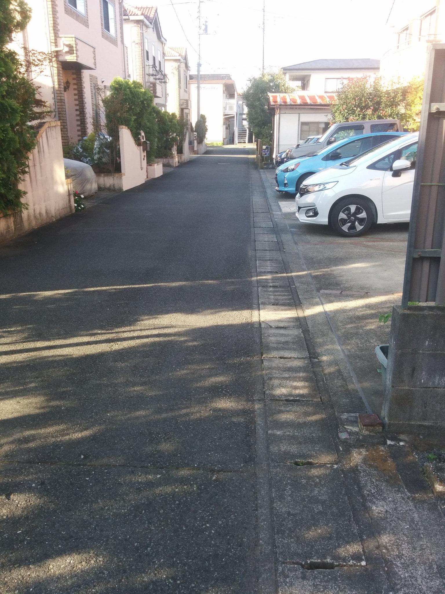 8 streeeeeeet on my way to school
