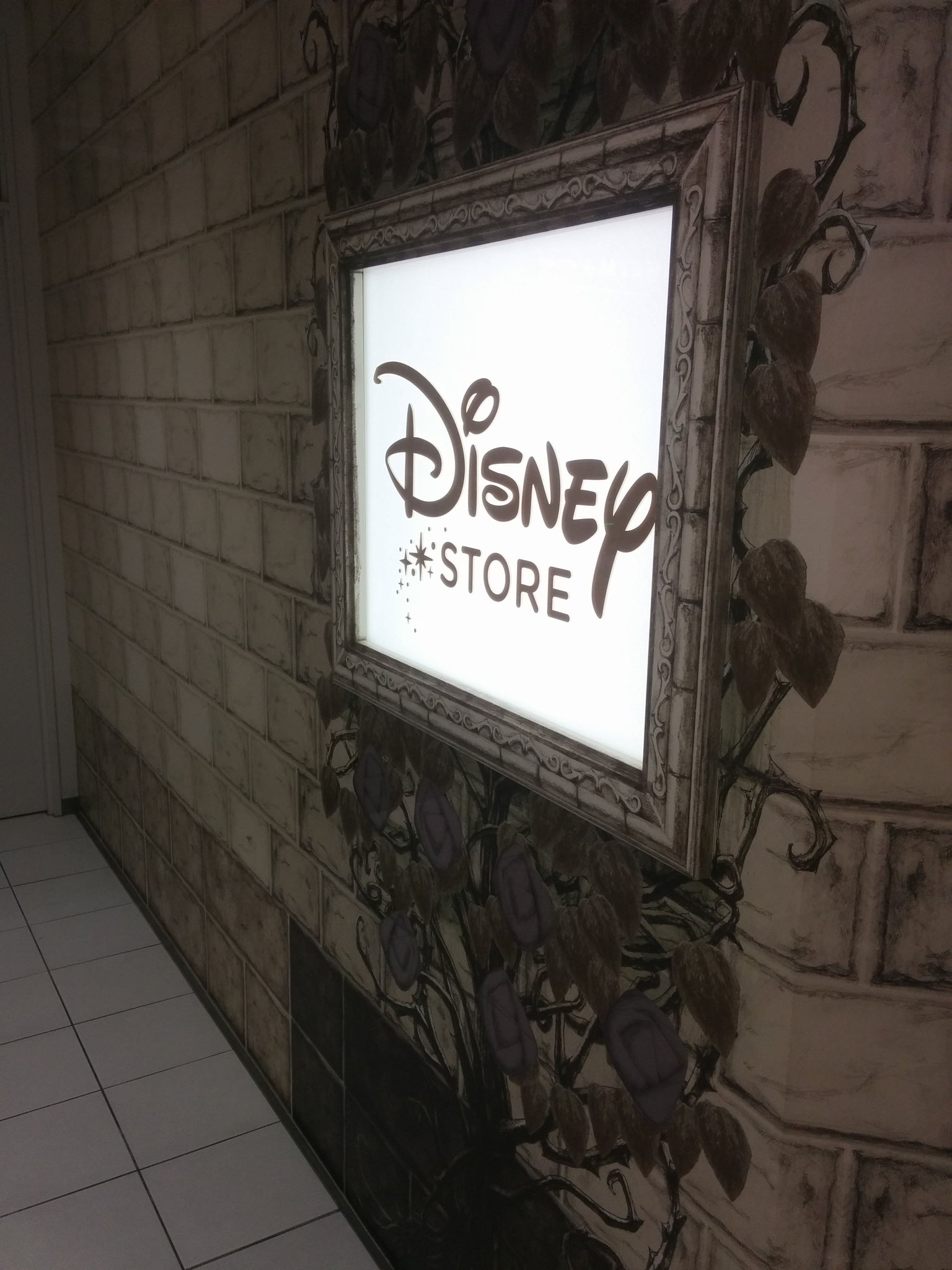Yeah, they have Disney stores with pricey Disney merch, mostly kids were there