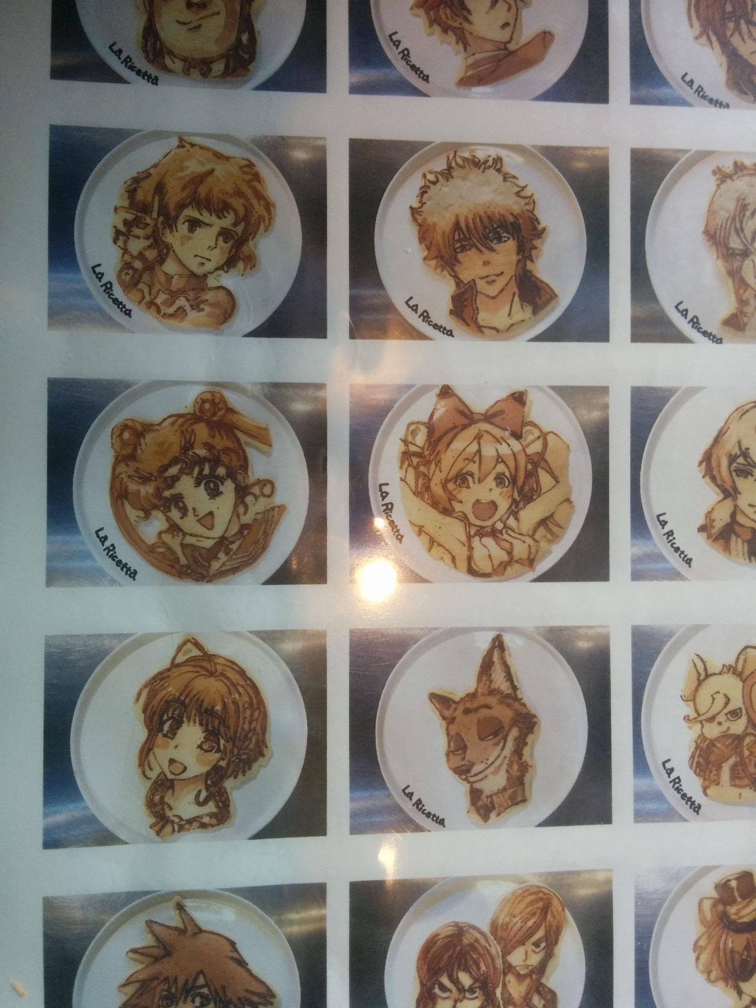 1 Pancakes the chef of the Italian restaurant designed!