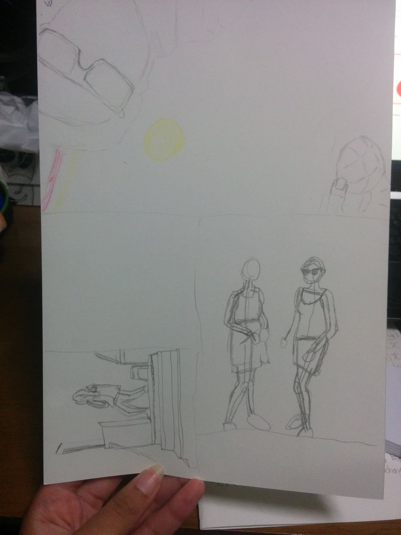 28 What I had drawn in first (and only!) arts class