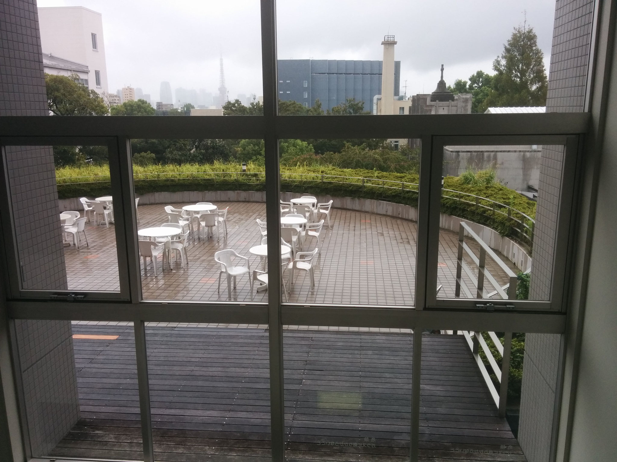 10 Hiroo - view from inside the building