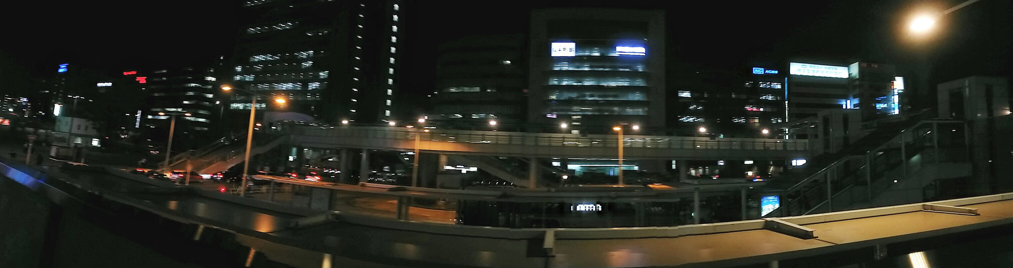 1 Yokohama at night