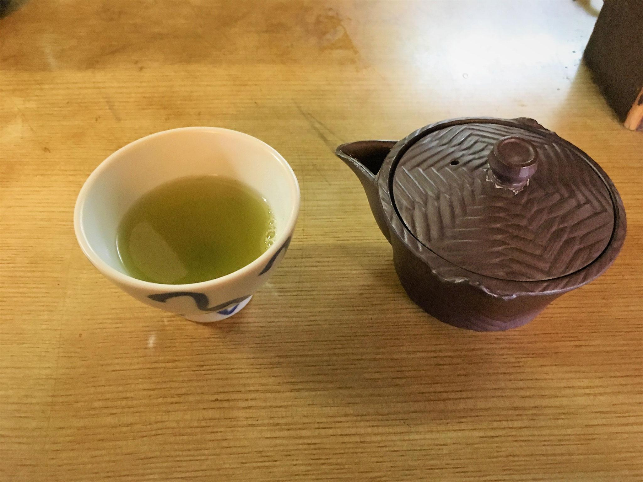 珍しい在来種のお茶です
