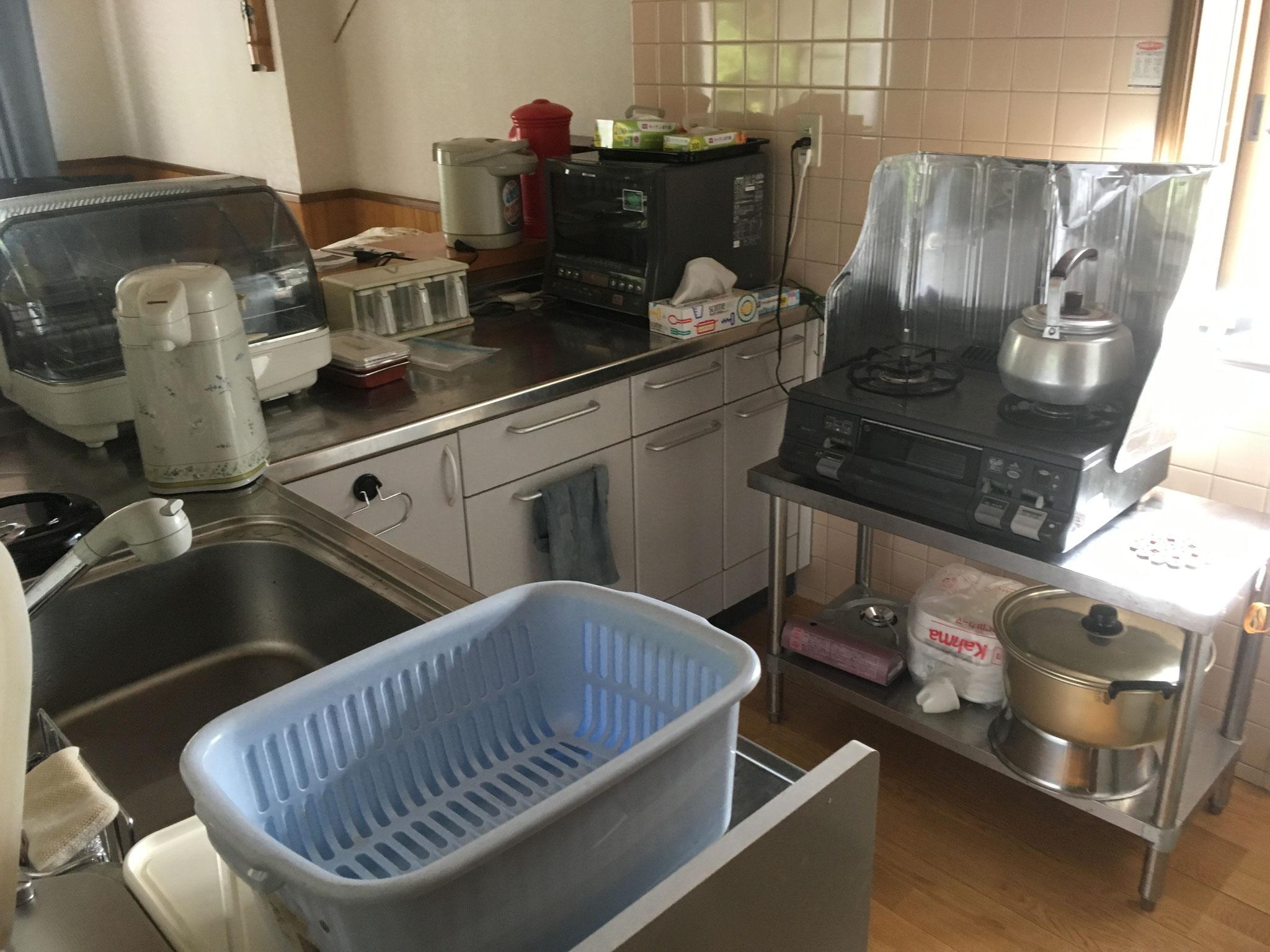 キッチン完備です