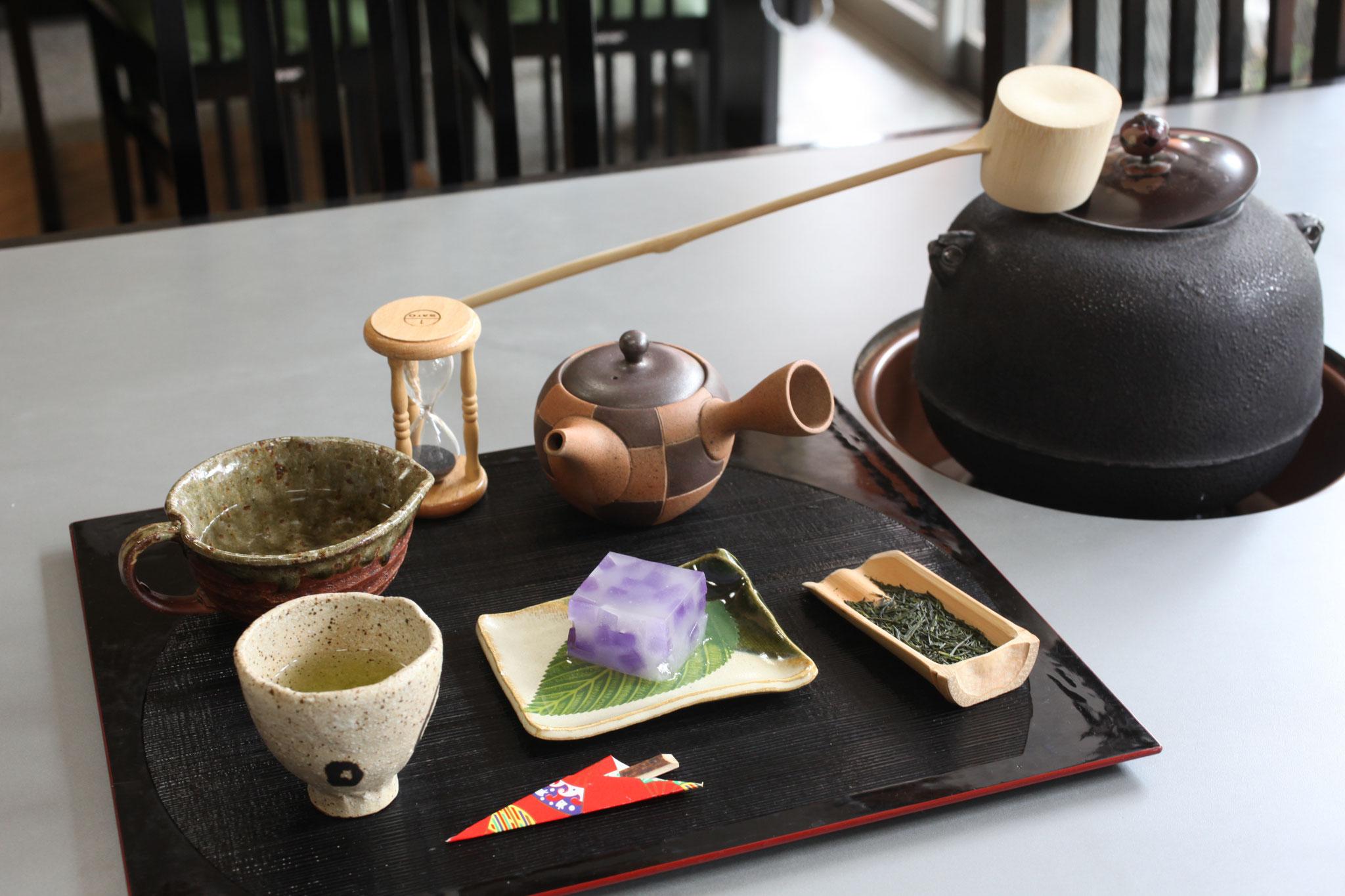 美味しい川根茶いただけます