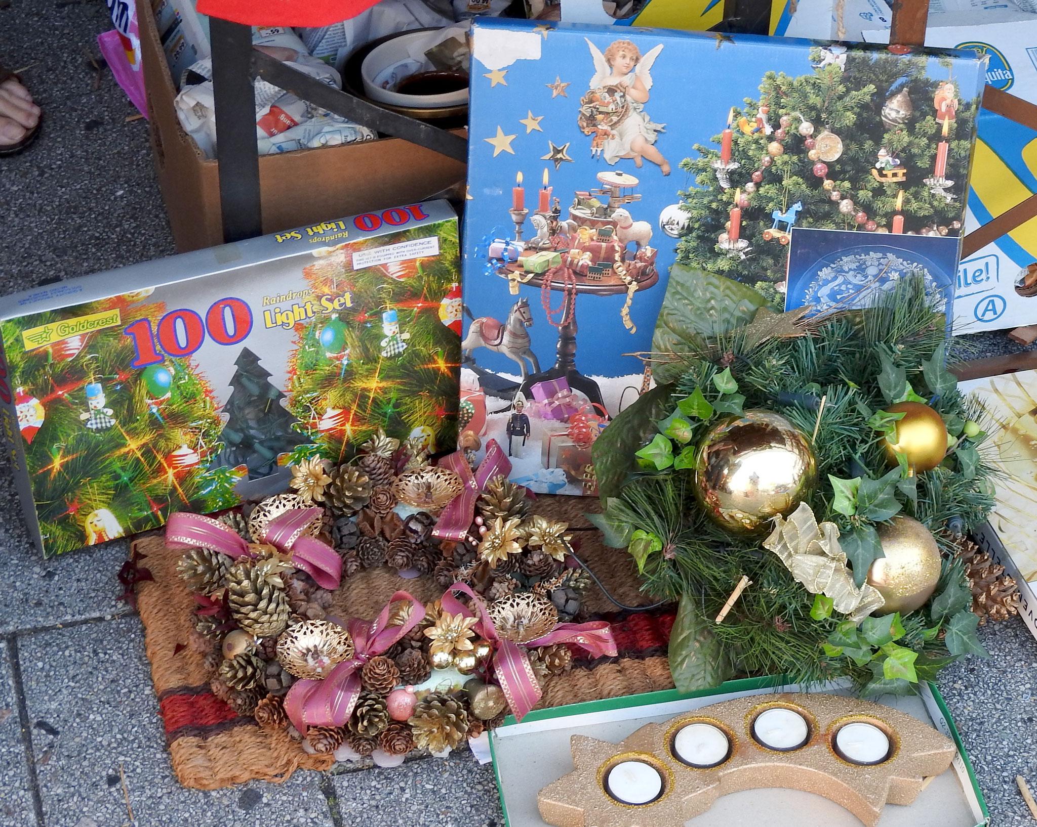 Hier starten die wirklichen Vorbereitungen auf den Weihnachtsmarkt...