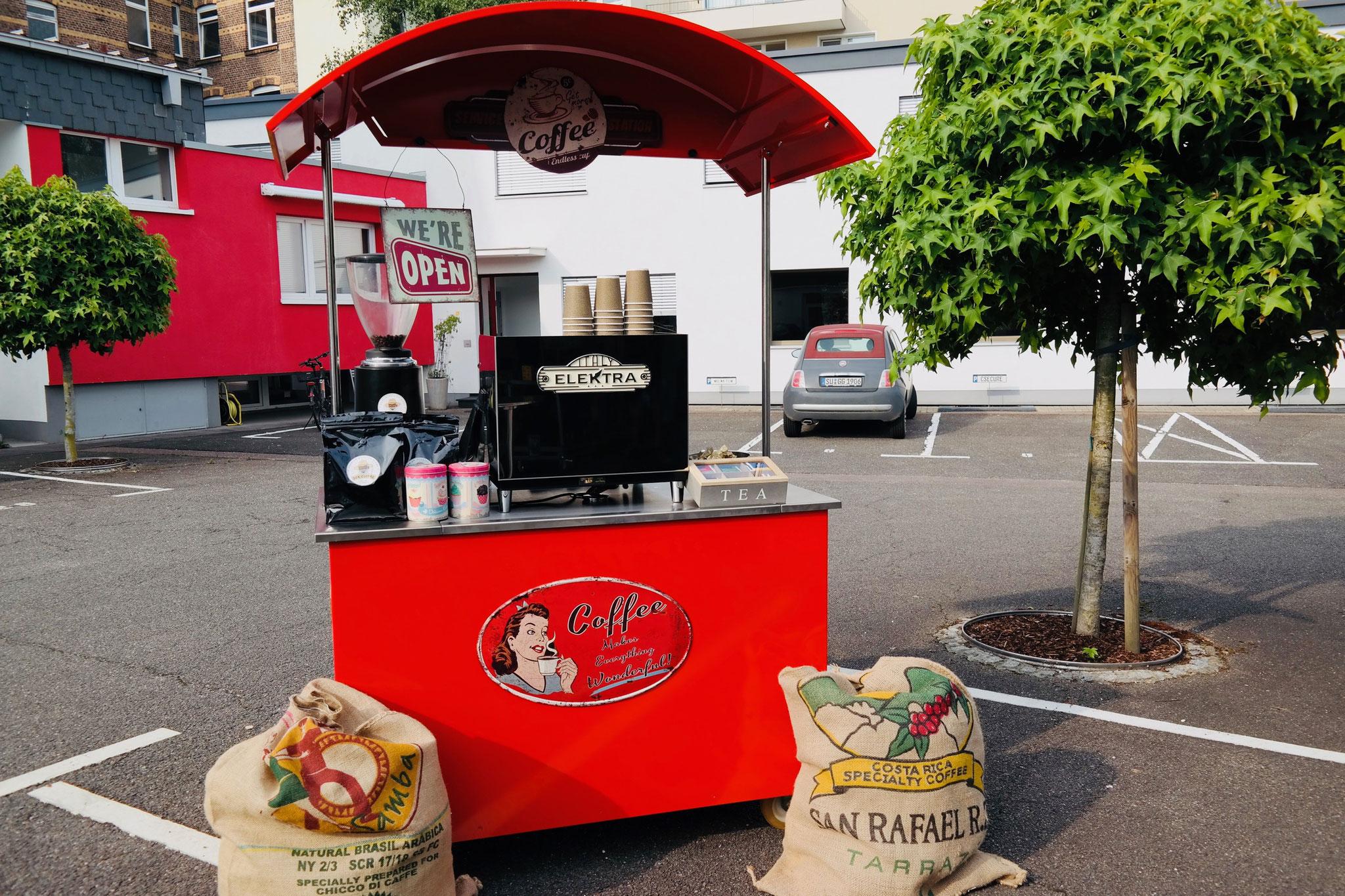 Kaffeestand Event Bonn