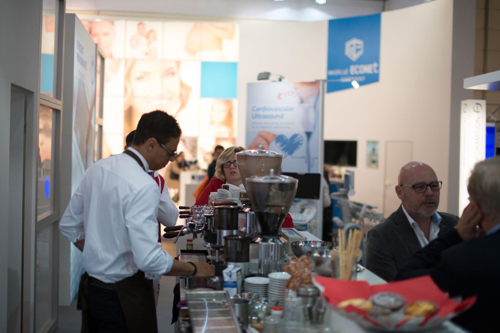 Kaffecatering Messe Düsseldorf
