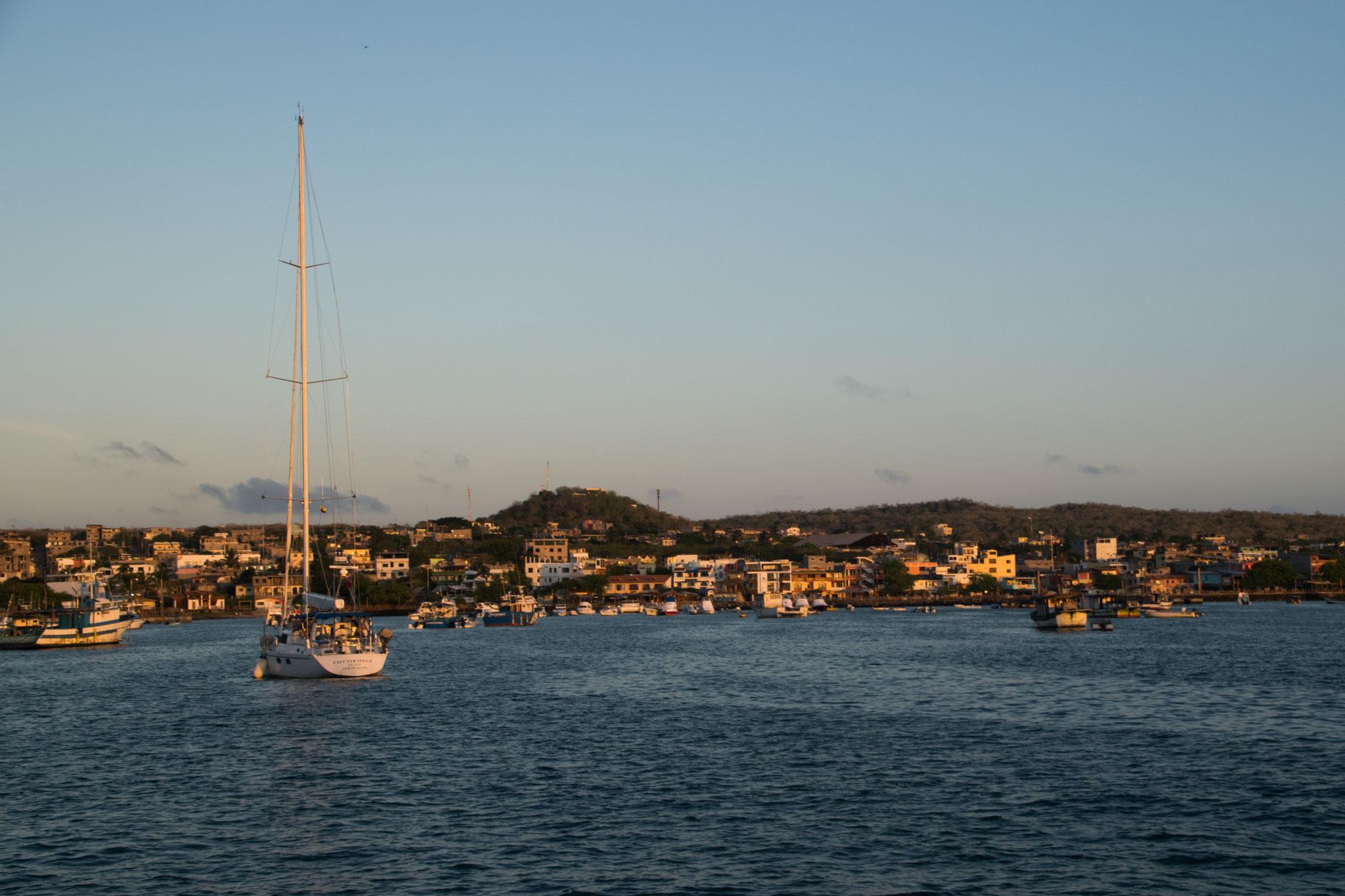 Die Hauptstadt von Galapagos, Puerto Baquerizo Moreno