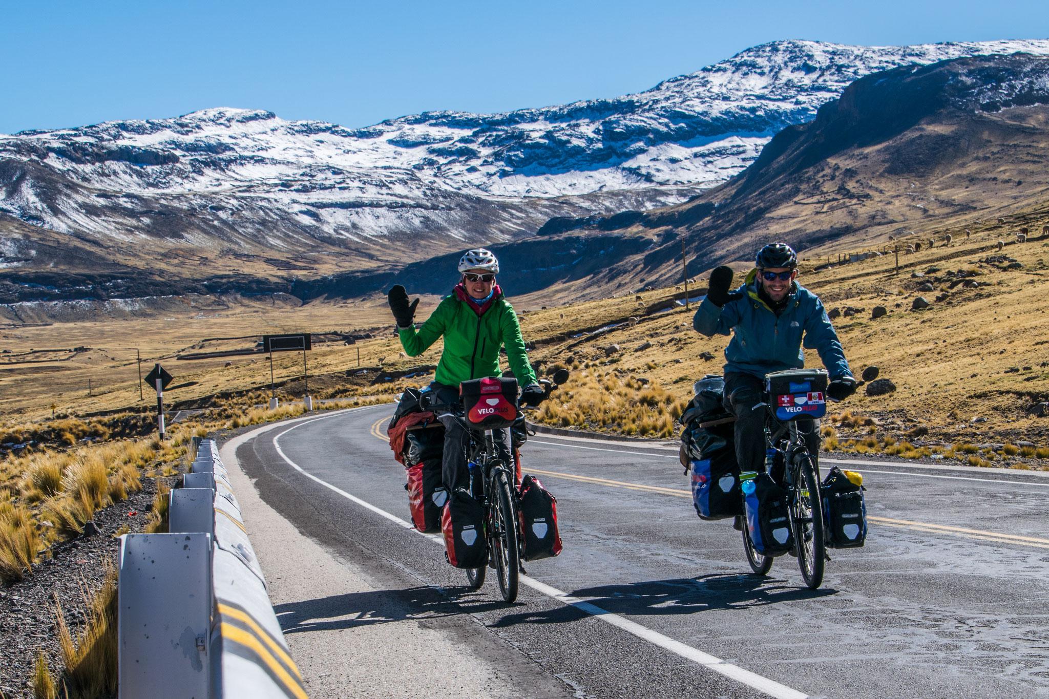Kurzer Anstieg nach Pampamarca
