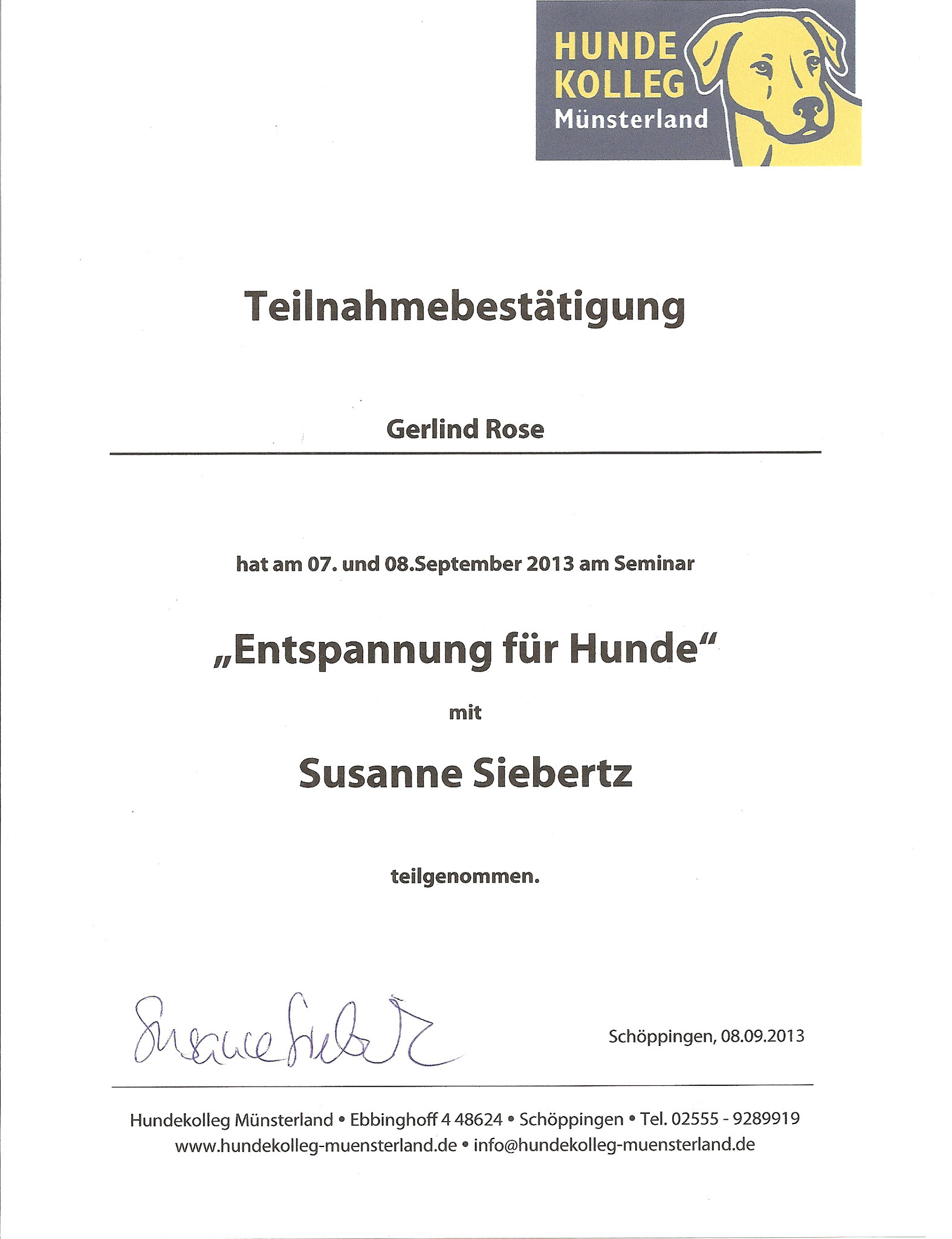 Entspannungsmassagetechniken - Susanne Siebertz