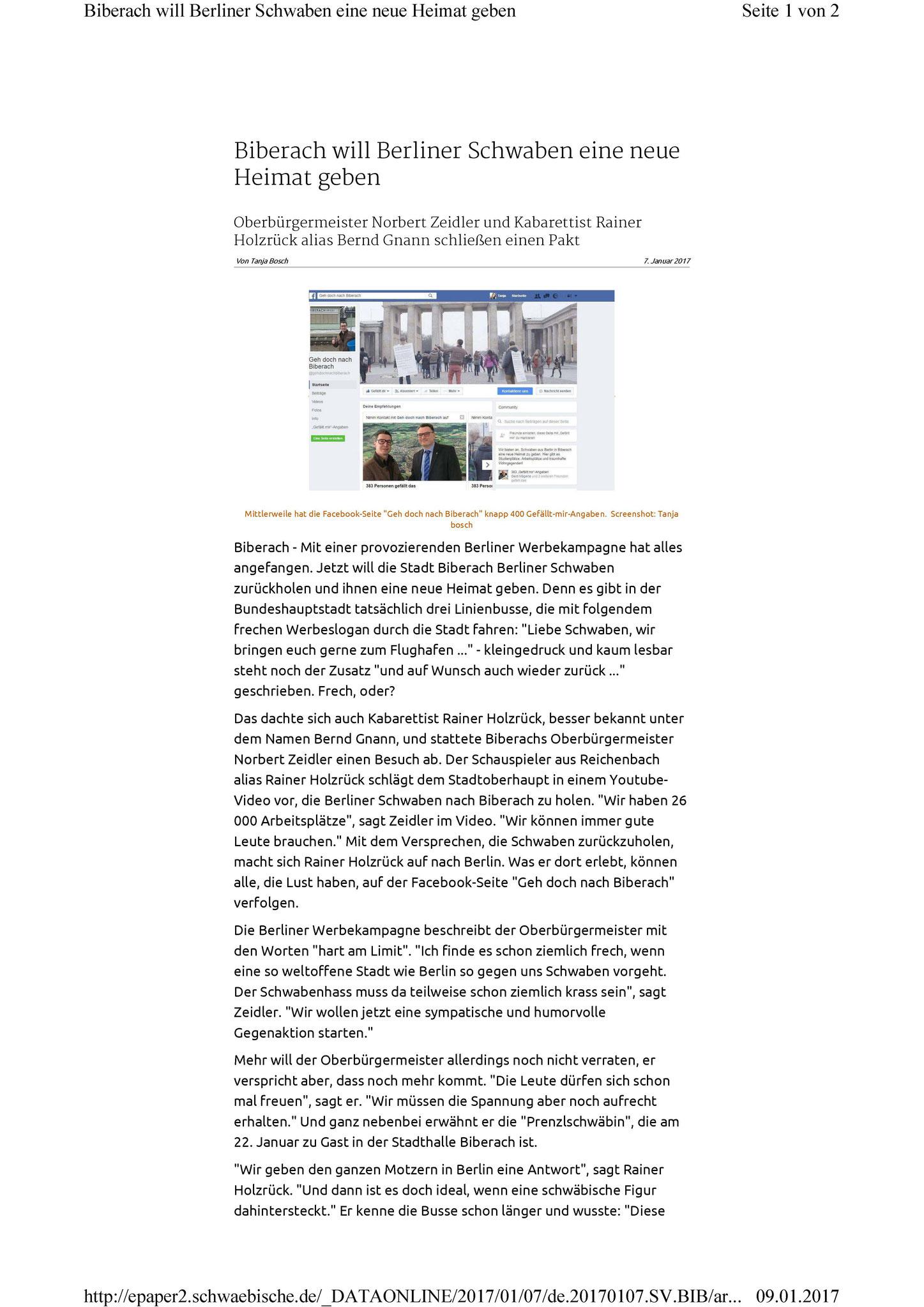 Die Erfolgreiche Marketingaktion Der Stadt Biberach