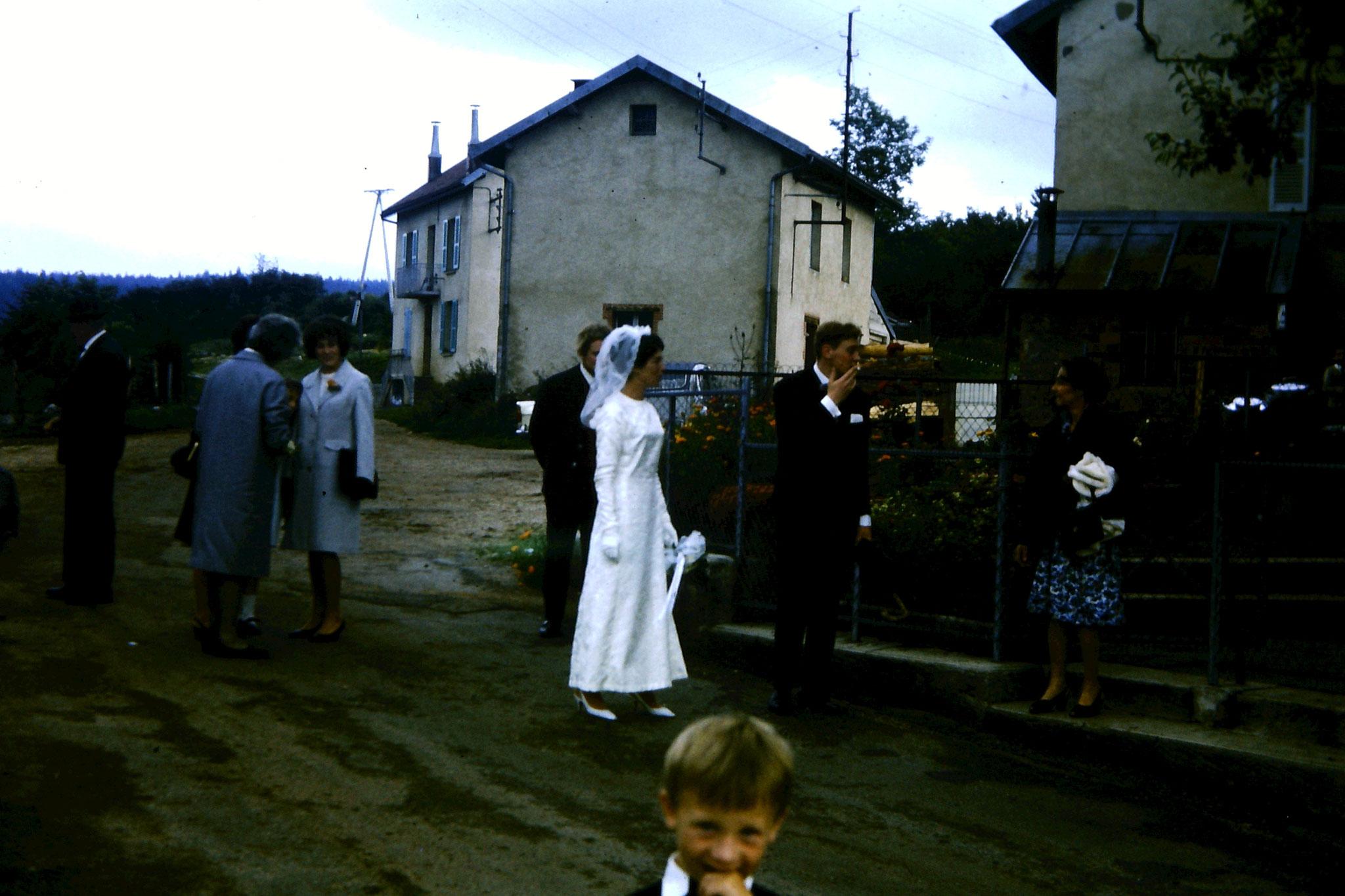 Les Rochats : avant la cérémonie