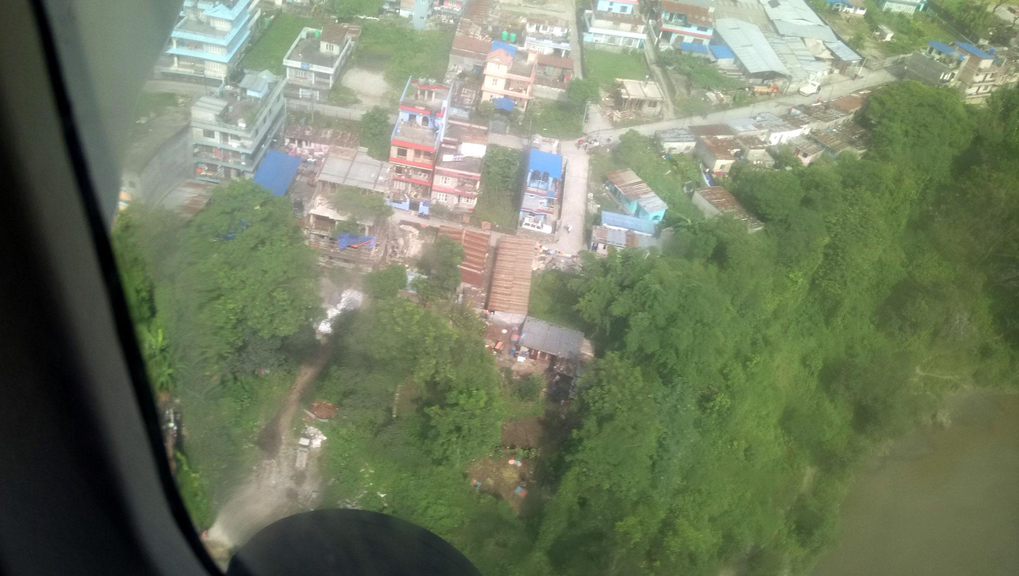 survol de Pokhara