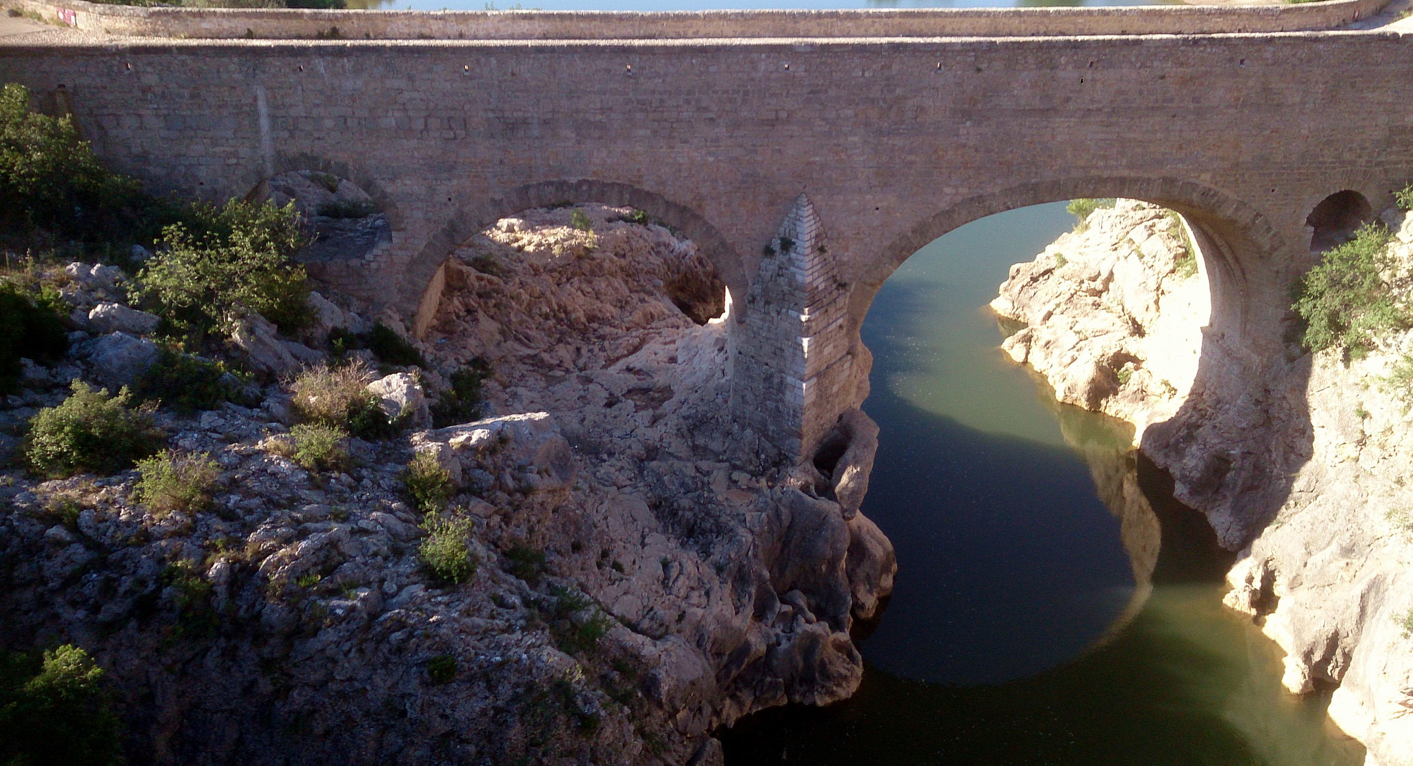 le pont du diable - gorges de l'Hérault