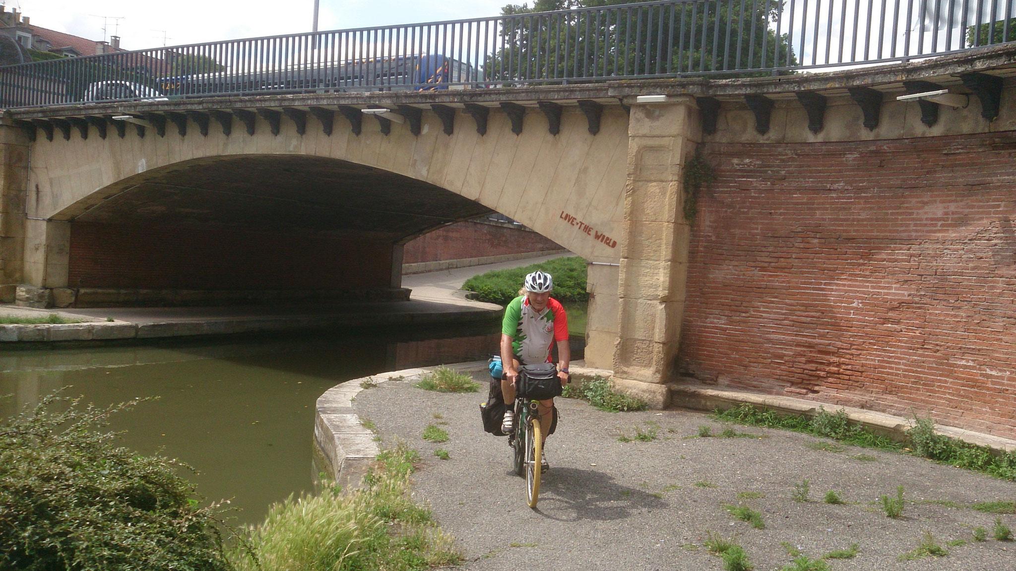traversée de Toulouse