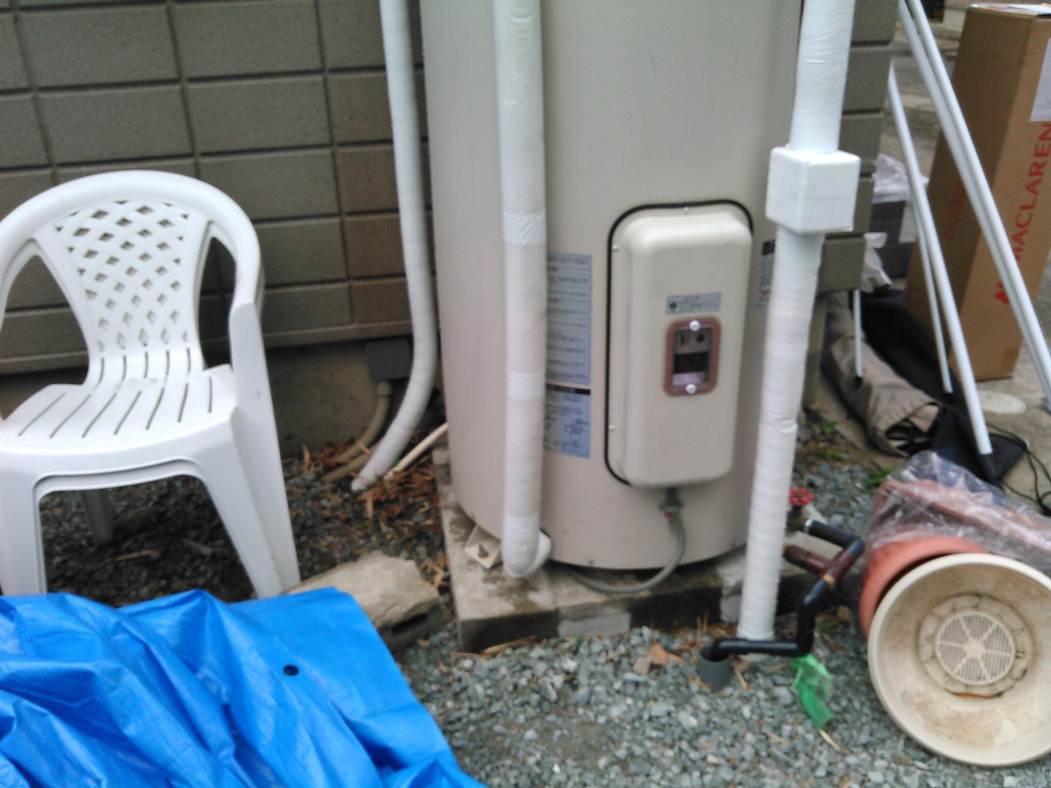 工事前既設電気温水器