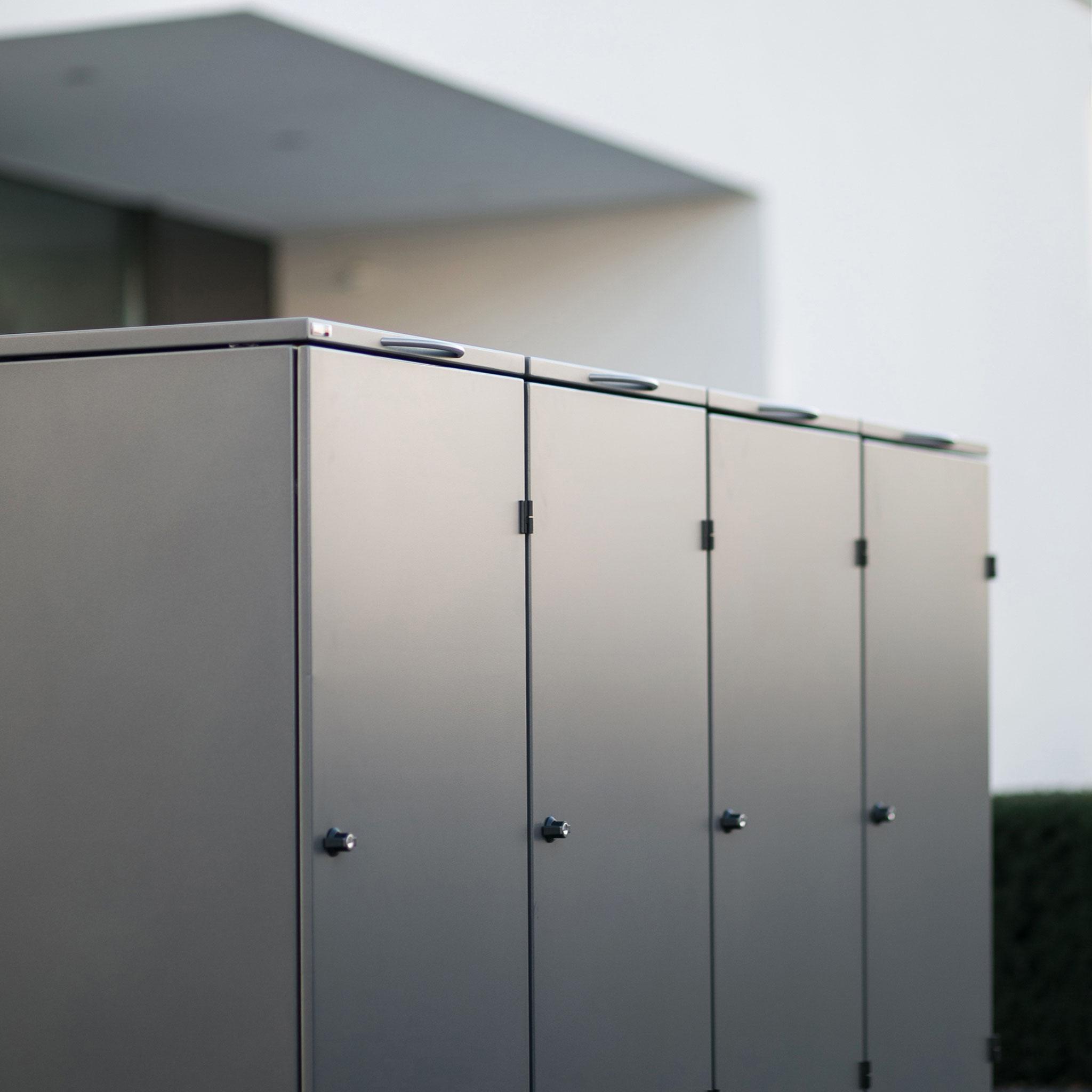 Mülltonnenbox OSLO- 124