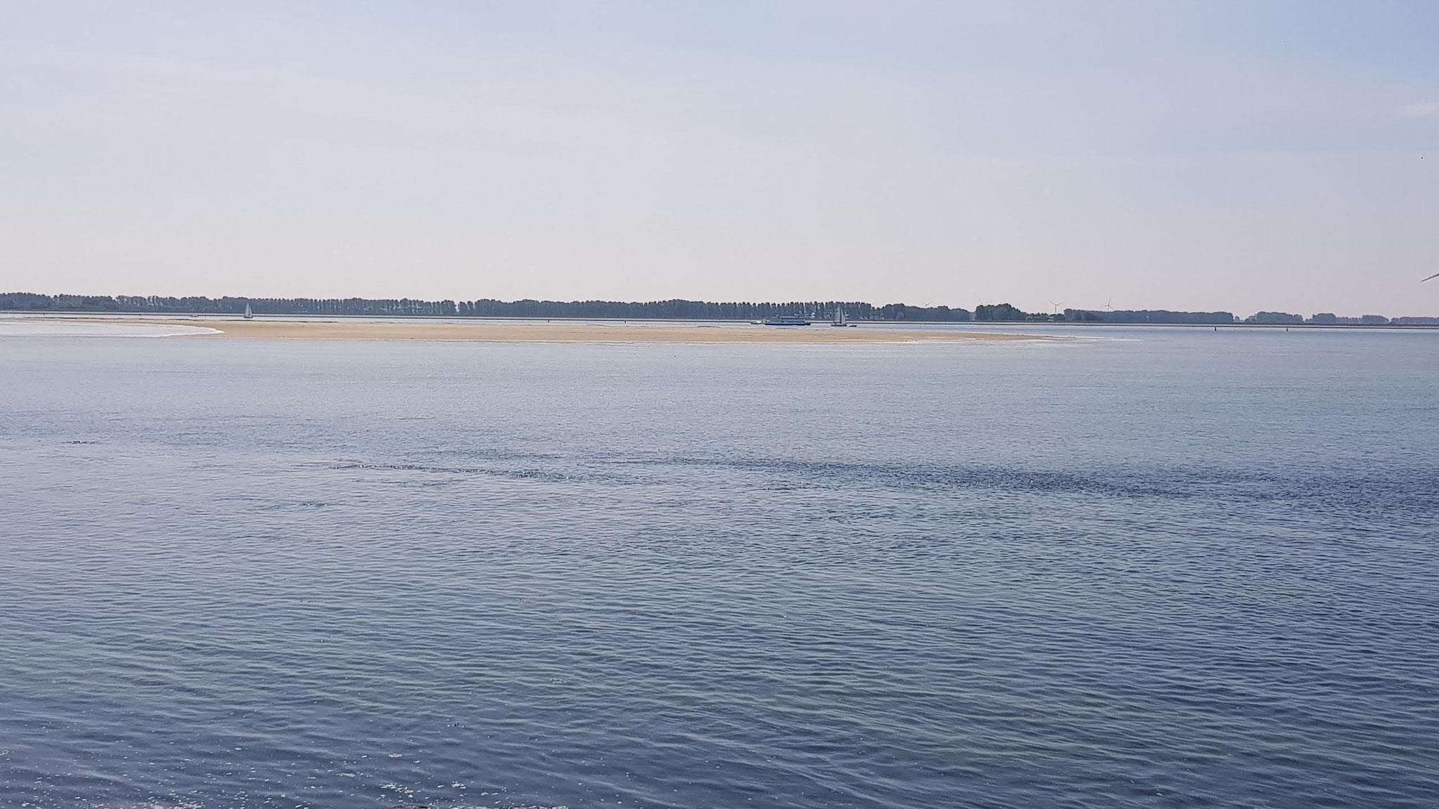 Sluis - Blick aufs Wasser