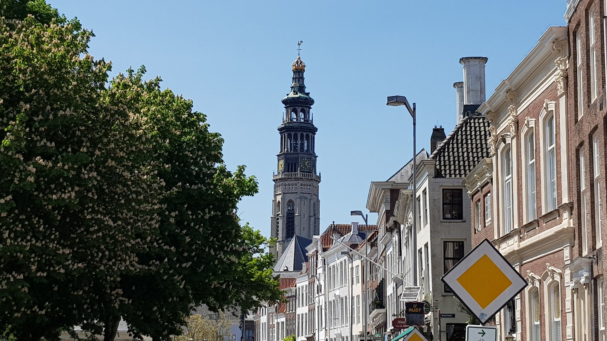 Long John Abbey Tower in Middelburg