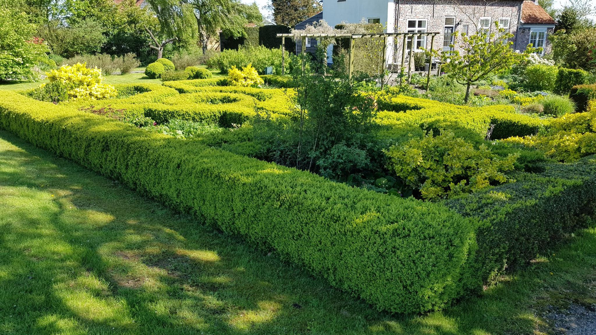 Blüten- und Obstroute - toller Garten