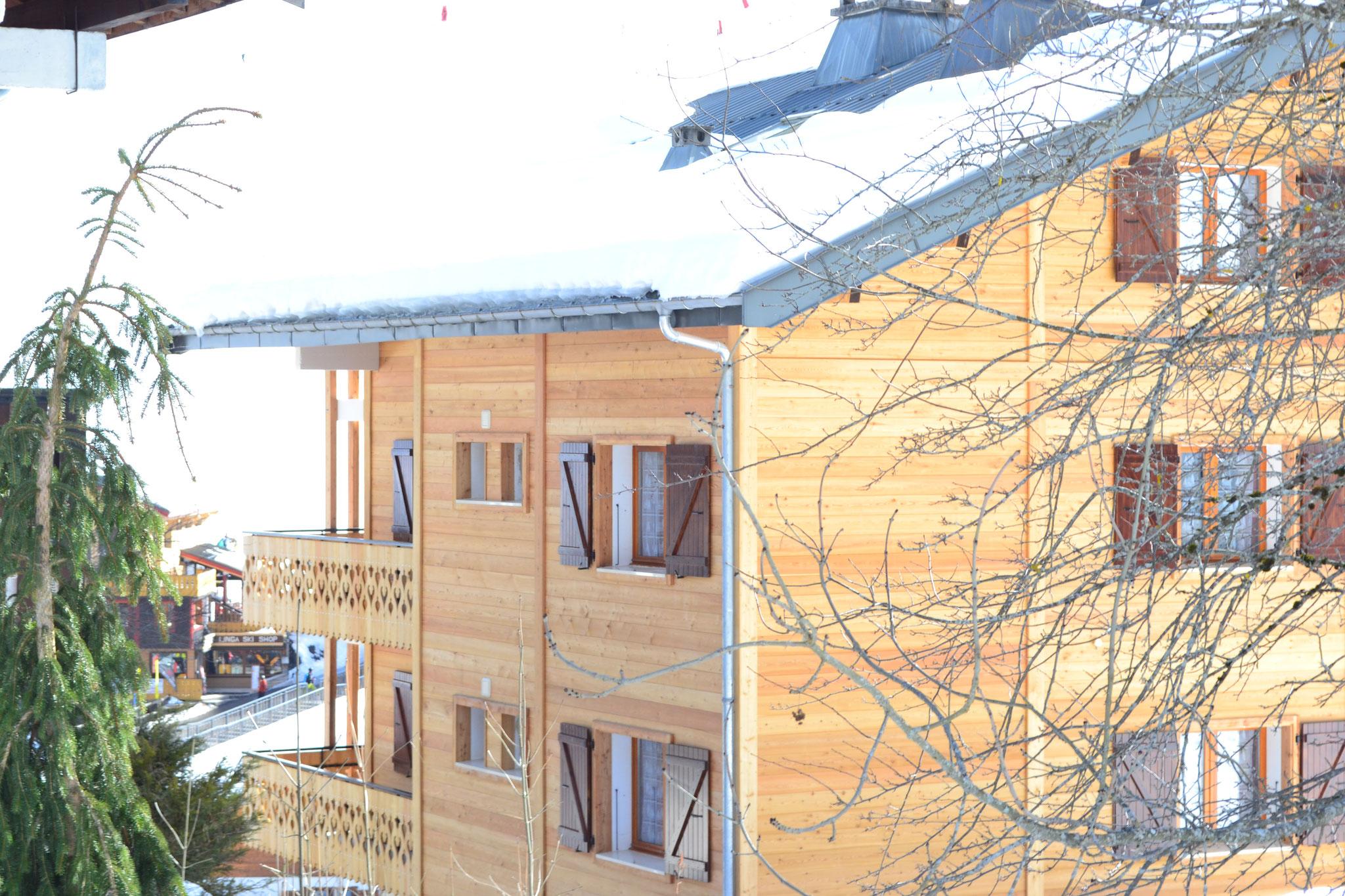 Appartements situés face aux pistes du Linga