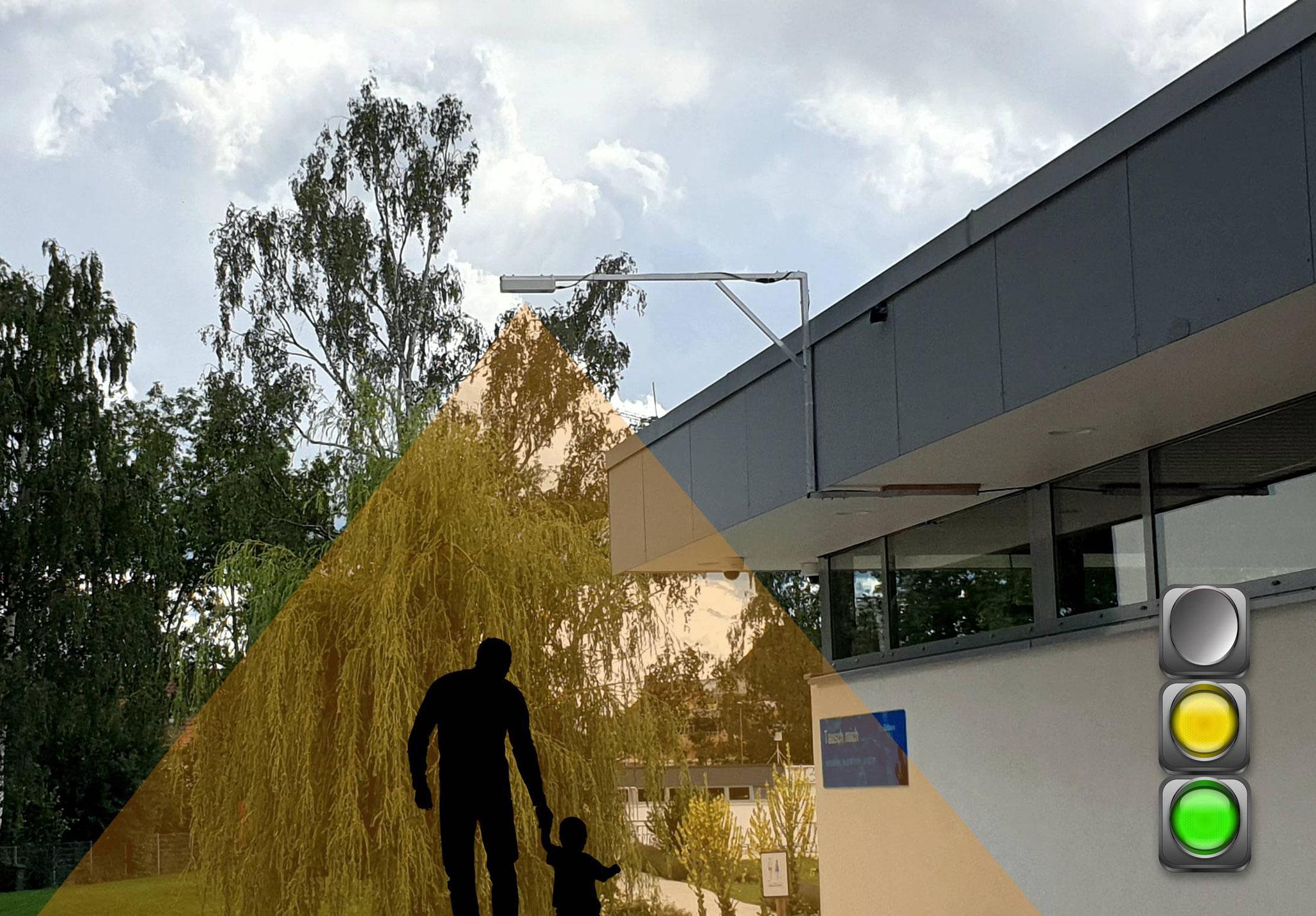 Kunde: Stadt Langenau - Personenzählung Freibad (Stereoskophische Kamerasensoren & Webservices)