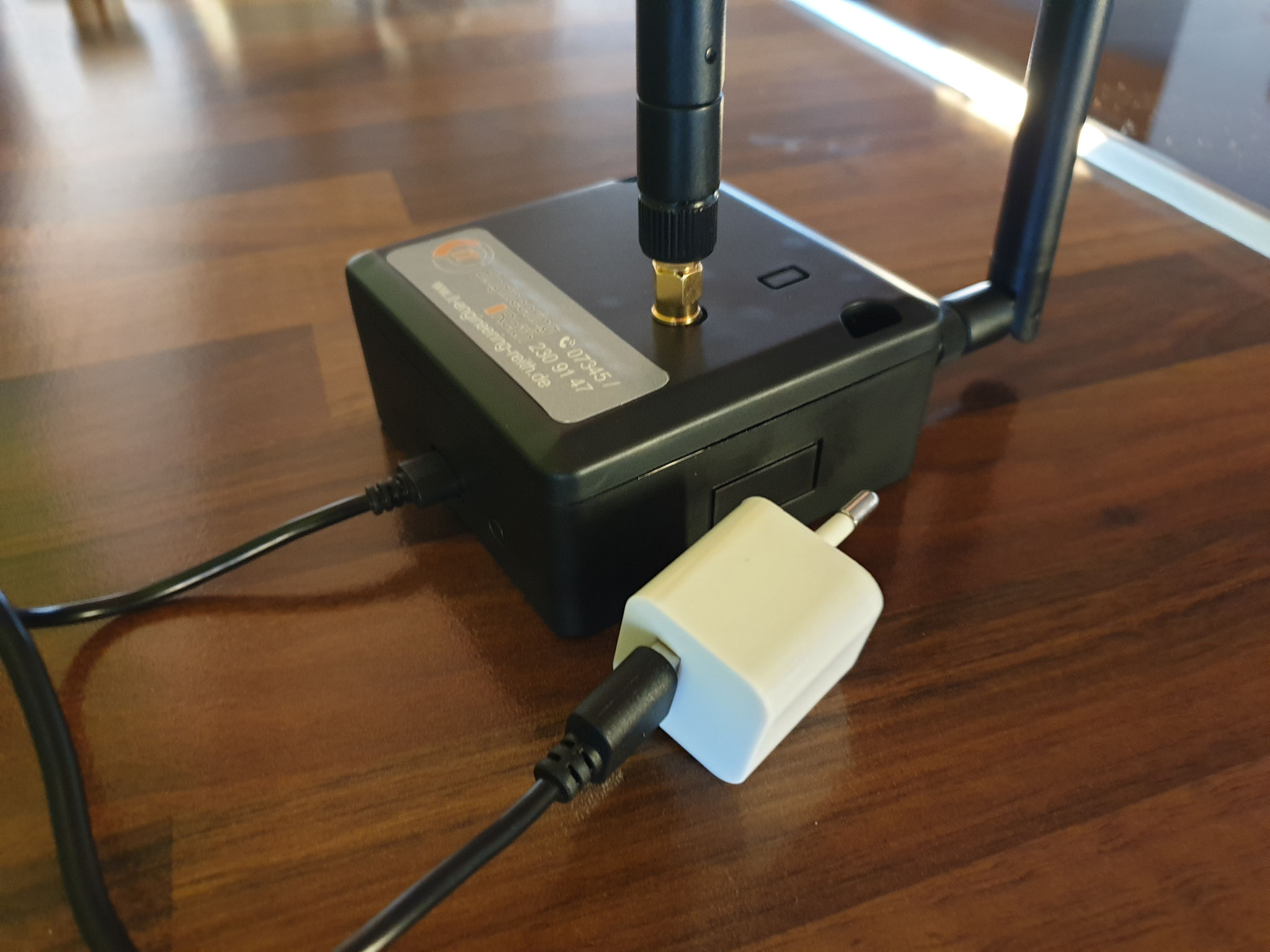 IoT Personenzähler via WLAN/Bluetooth