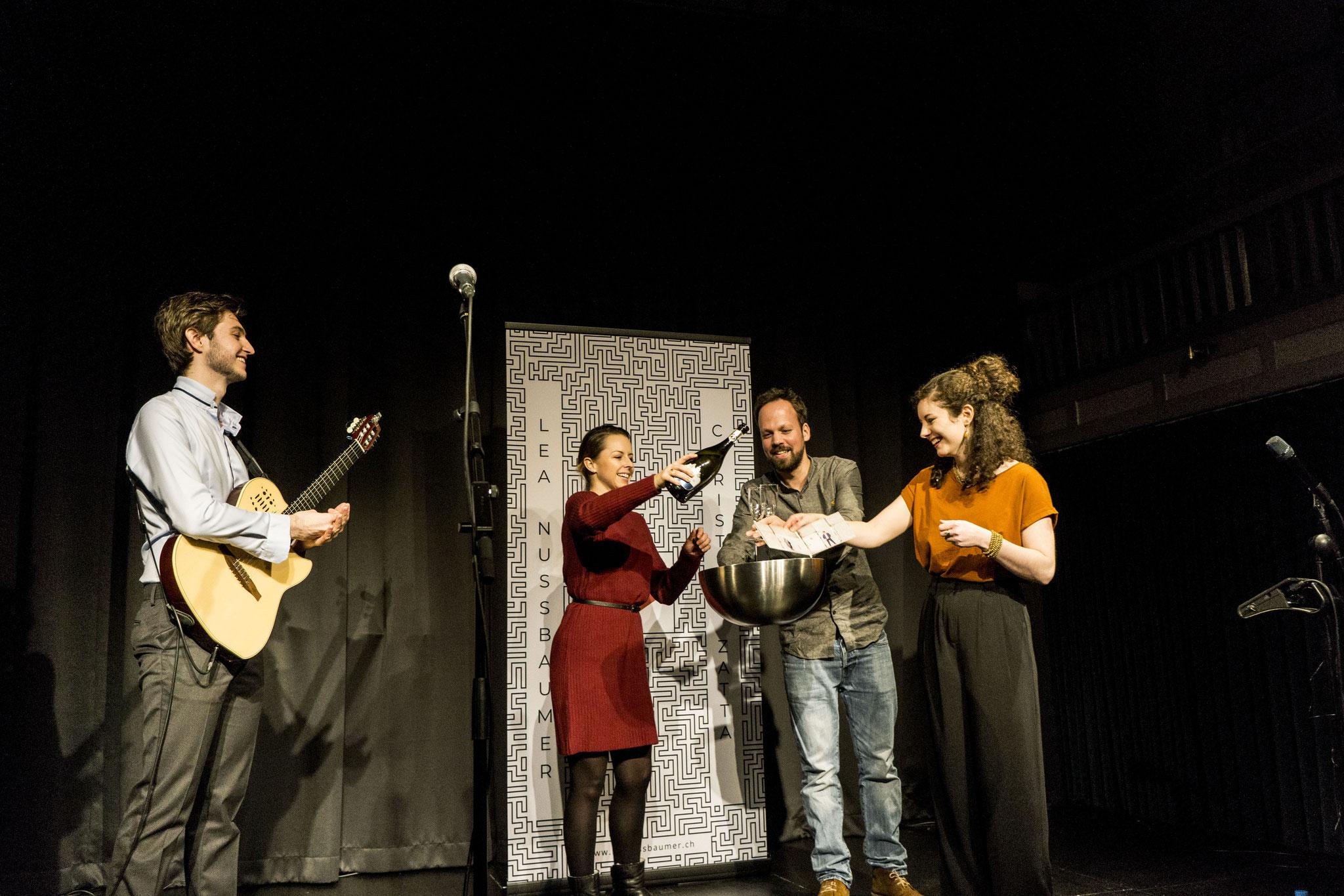 Plattentaufe, La Cappella Bern, 27.12.2018