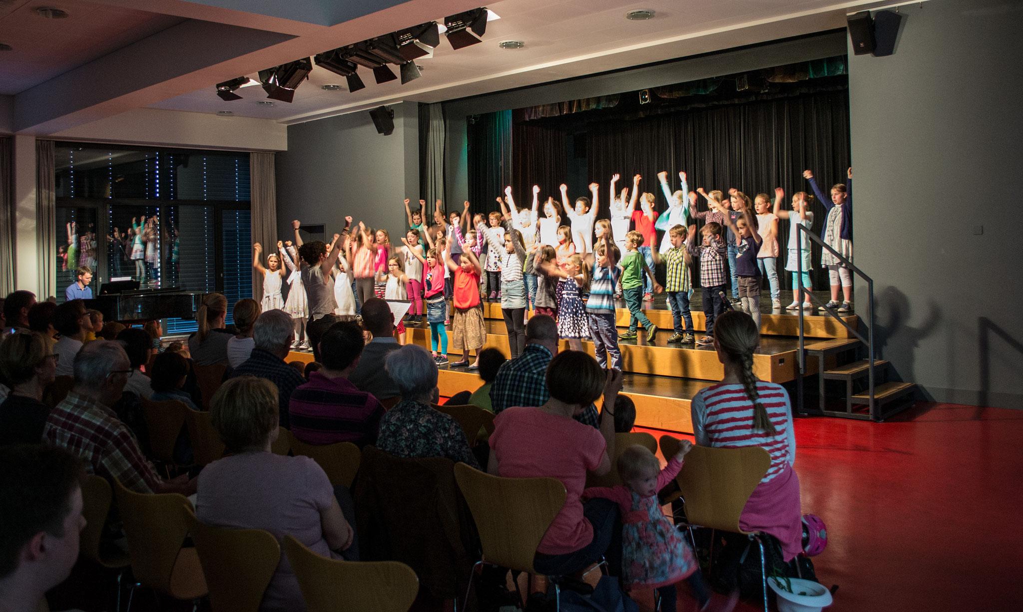 Kinderchor Konzert, Zug, 08.04.2017
