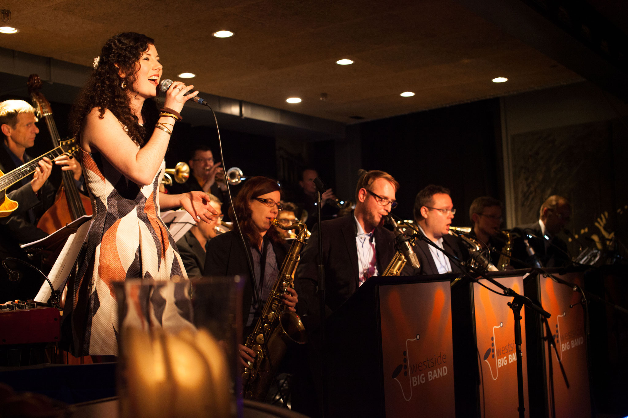 West Side Bigband feat Lea Nussbaumer,