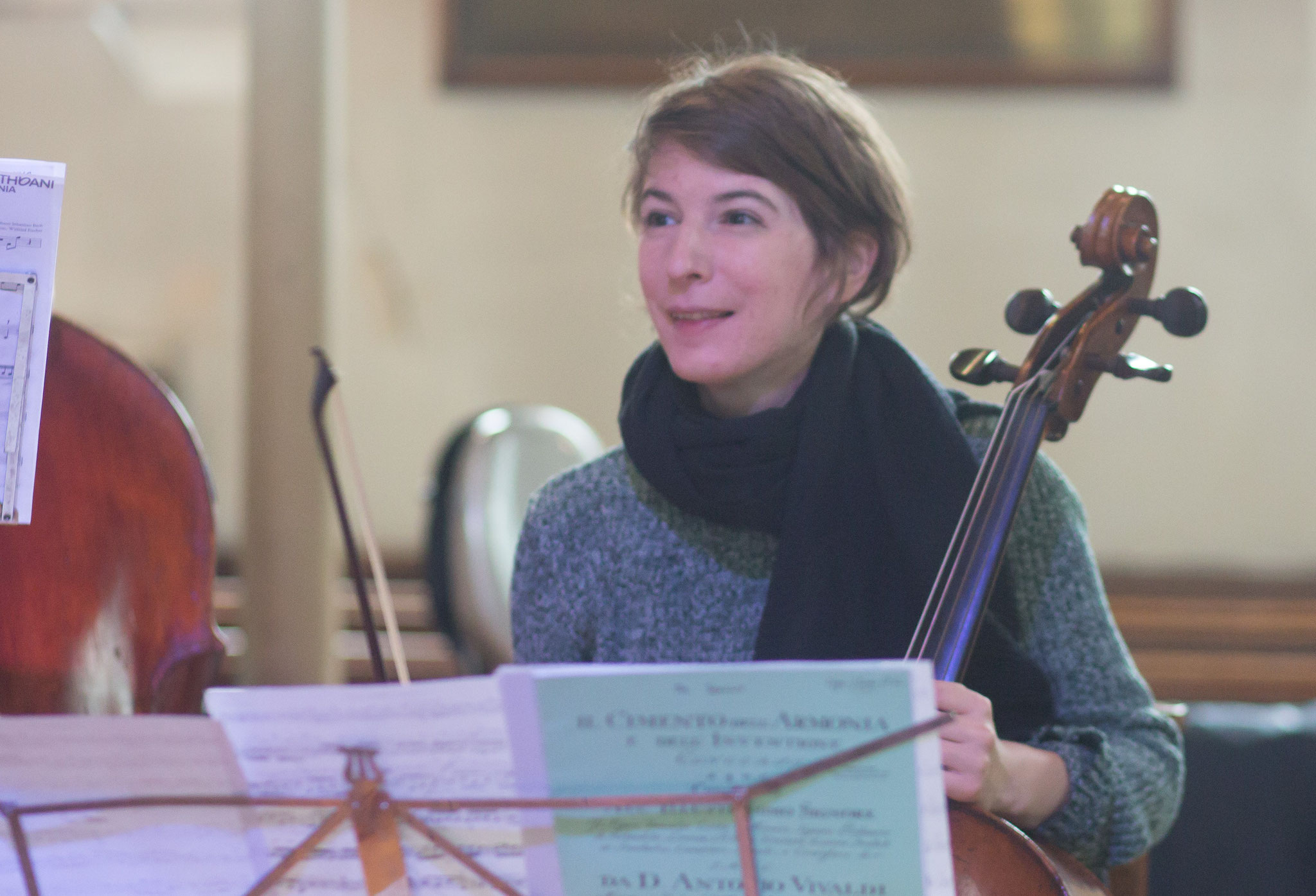 Violoncellos: Bianca Riesner