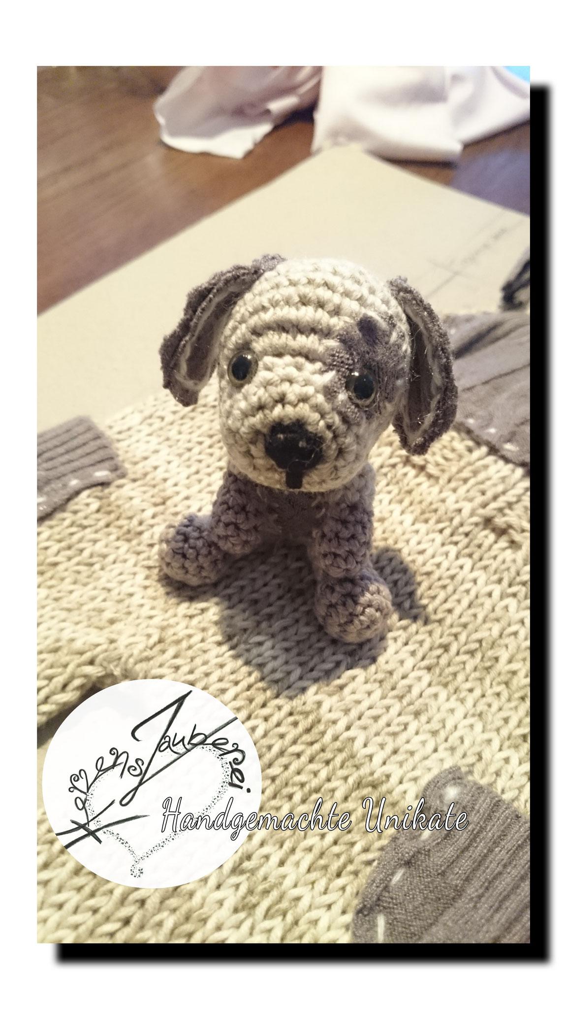 Kleiner Hund als Shootingstar, ca. 8cm gross, Chf 35.-