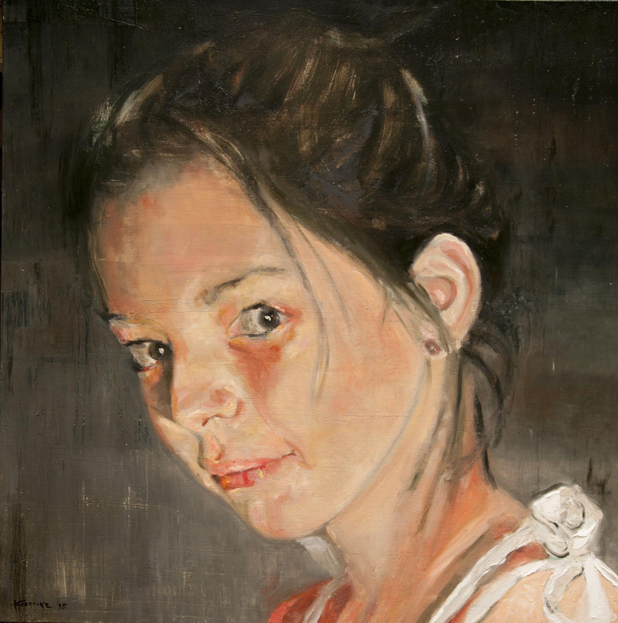 Lais - Oil 100 cm x 100 cm 2015