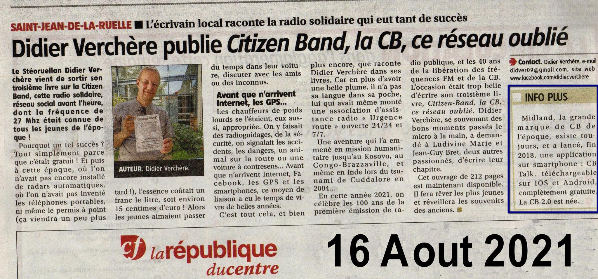 Article République du Centre Orléans Loiret