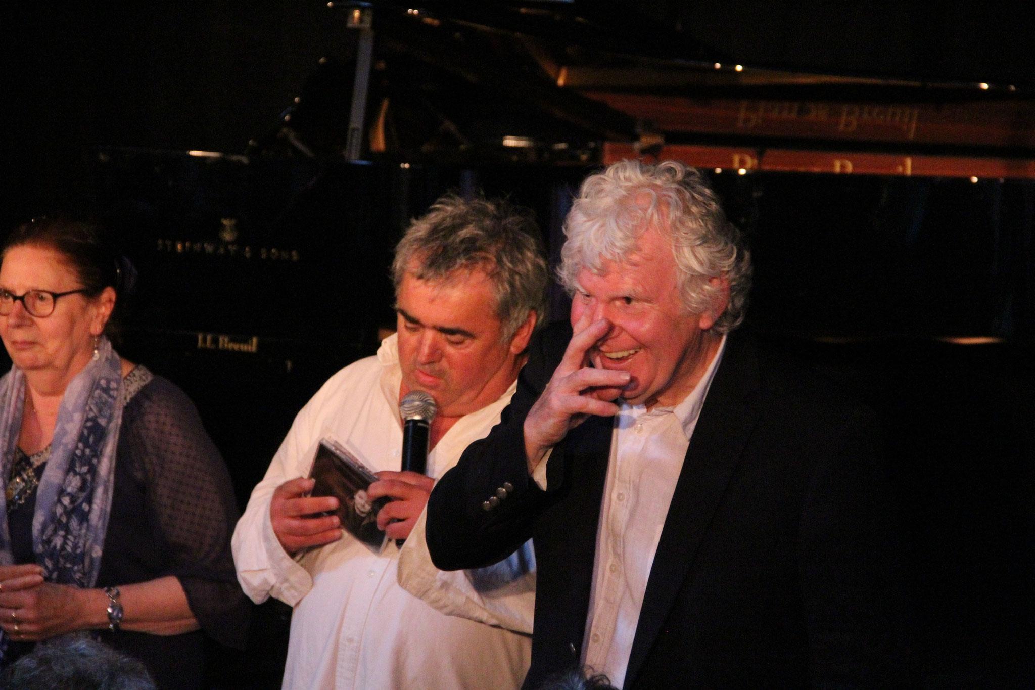 Eric Laurent et Bernard Joyet