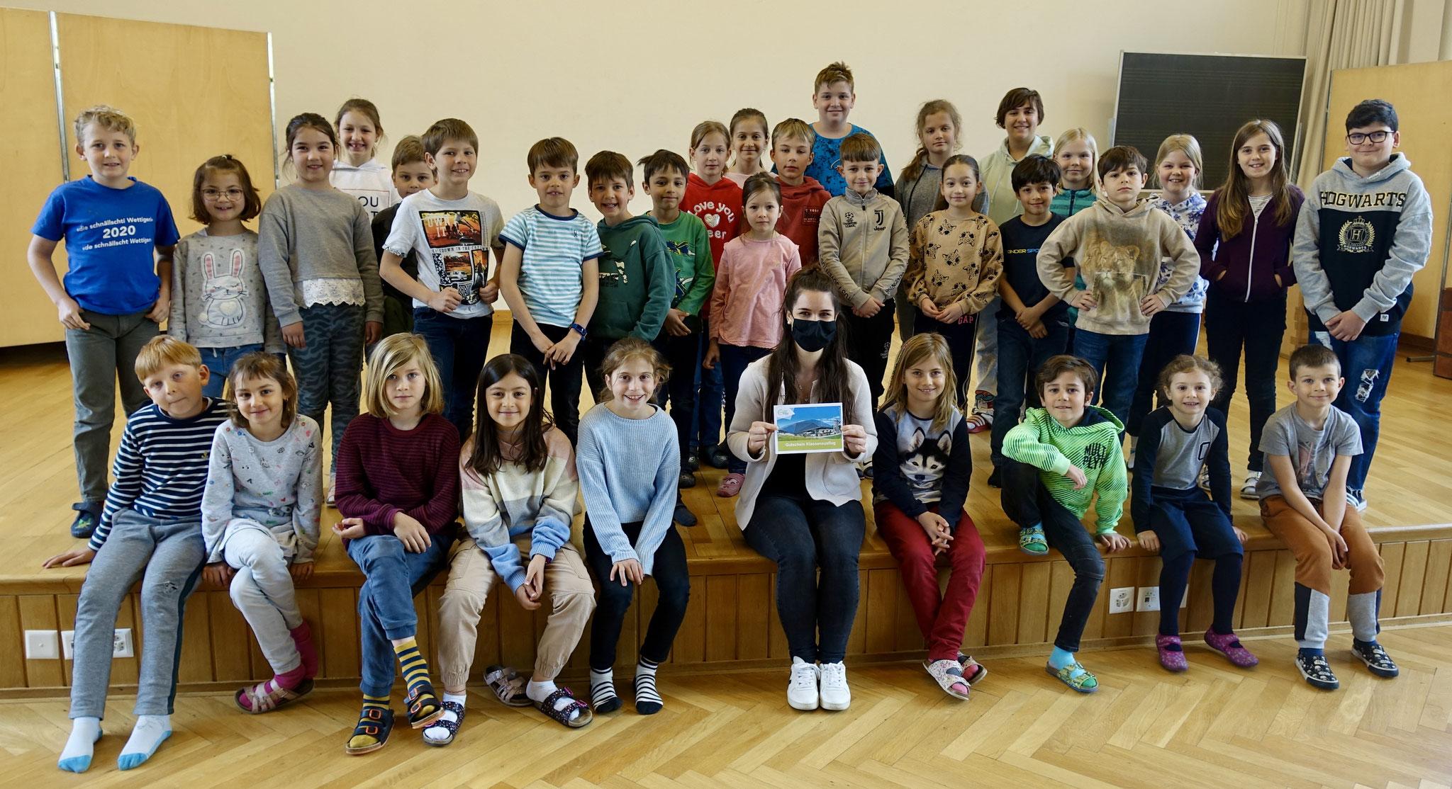 Sieger Zyklus 1: Schülerrat aus dem Schulhaus Altenburg in Wettingen (AG)