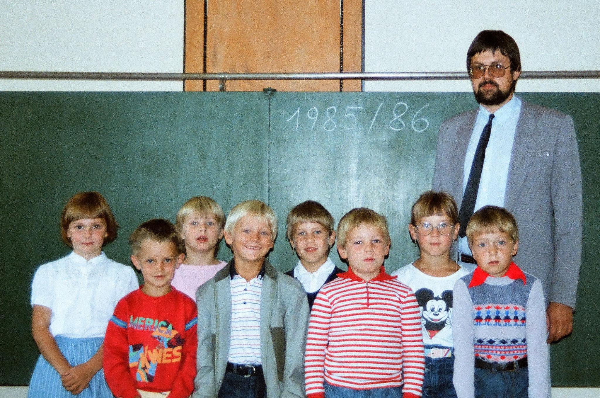 1. Schulstufe 1985/86