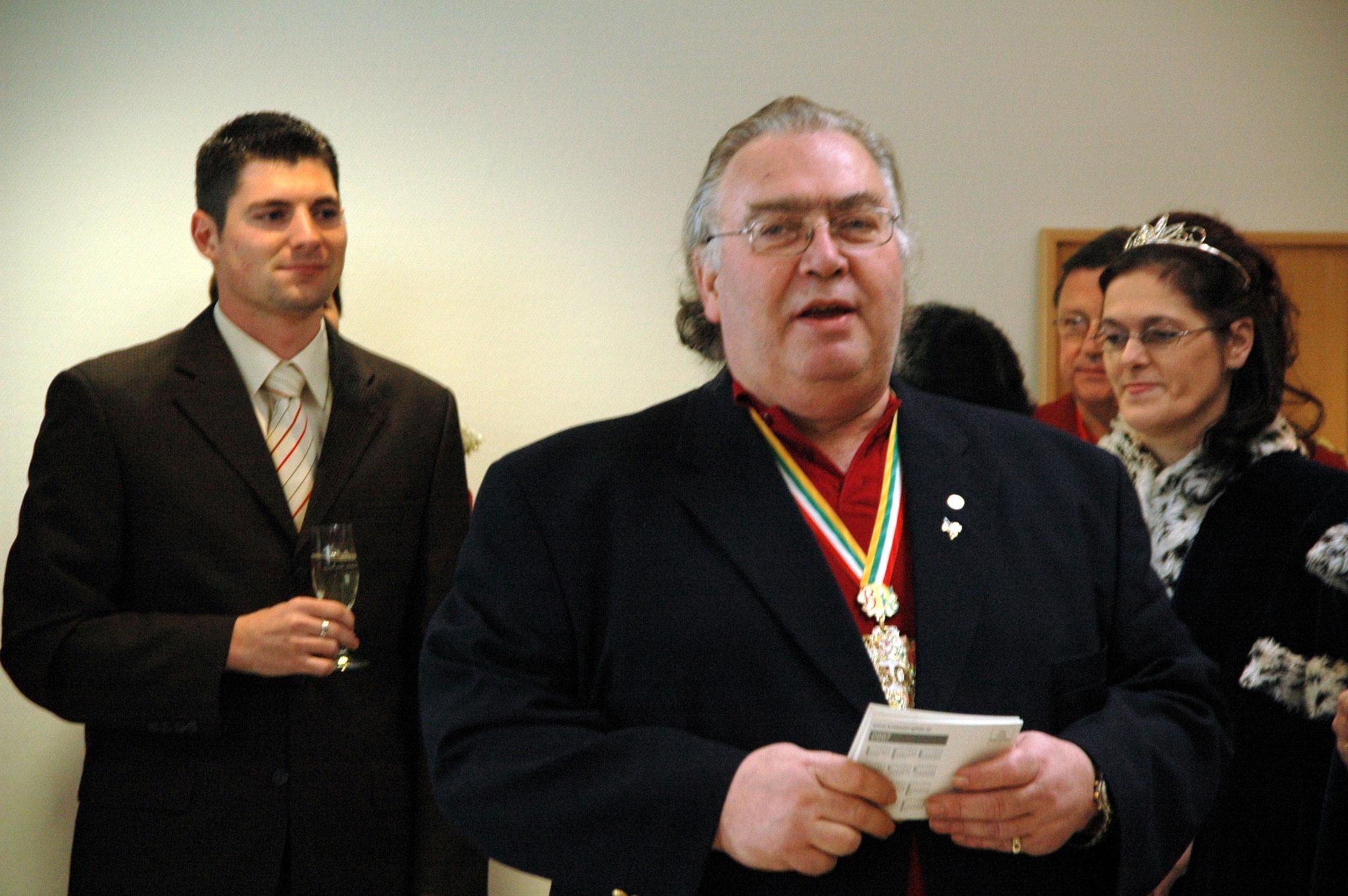 Feierliche Rede seiner Exzellenz Präsident Fredi von Domschitz