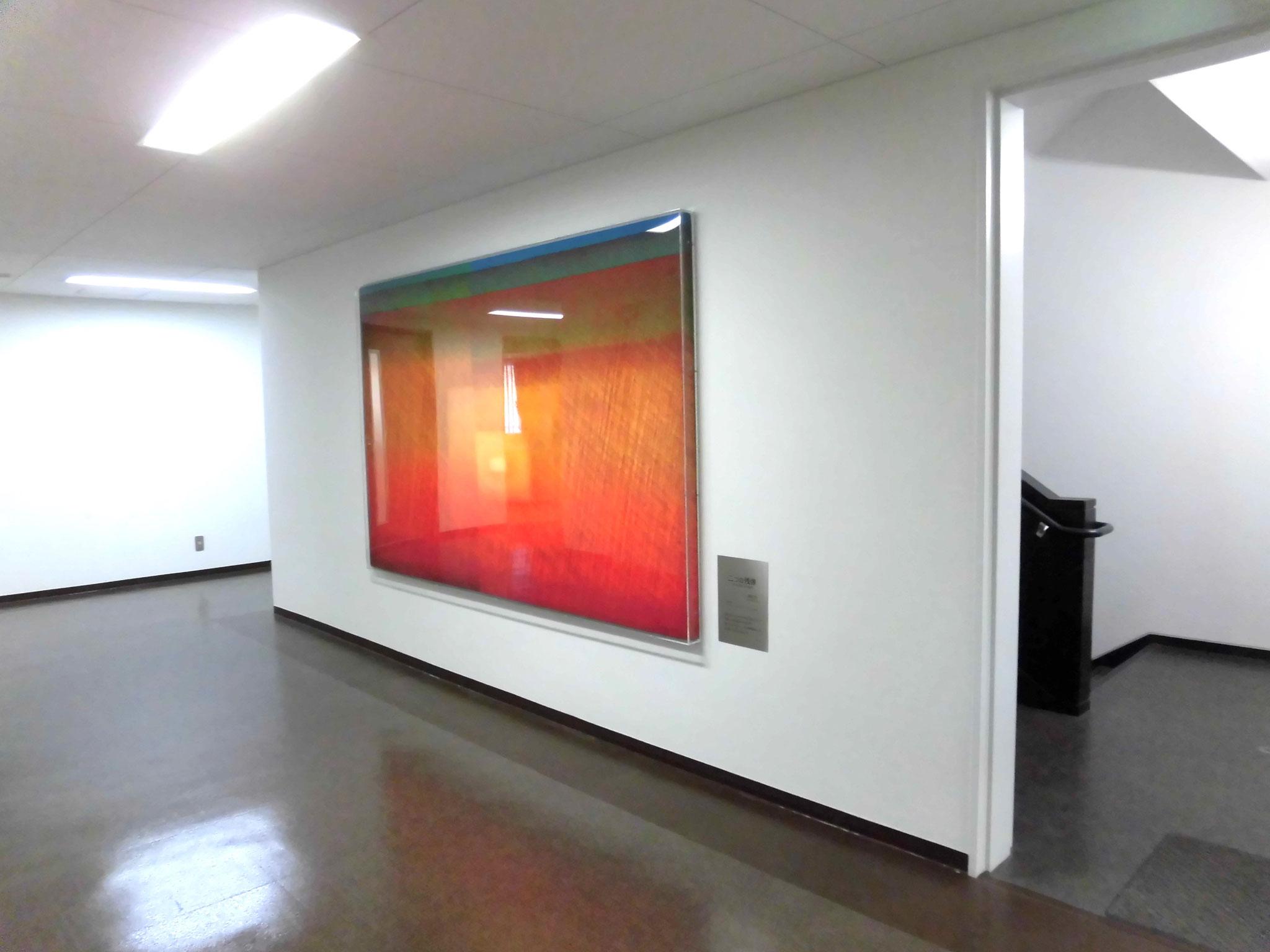 「二つの残像」  高安 醇      ポスターカラー、アクリル、油彩 150号