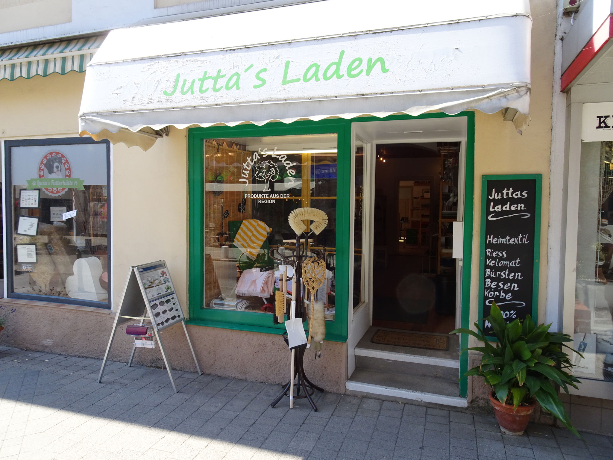 Willkommen in Juttas Laden