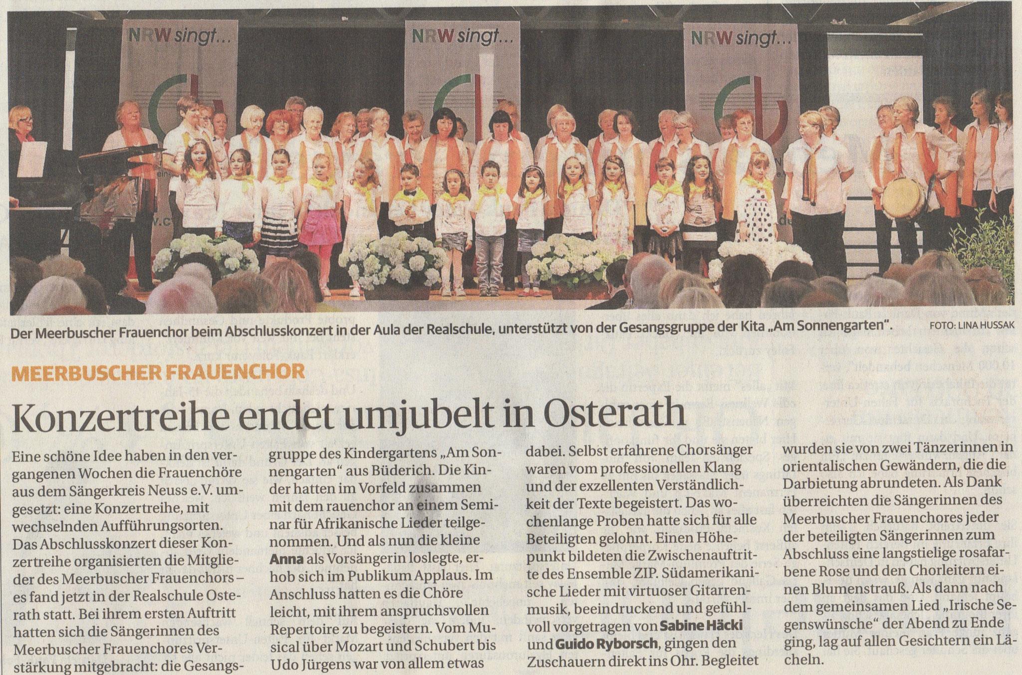Rheinische Post 21.05.2014