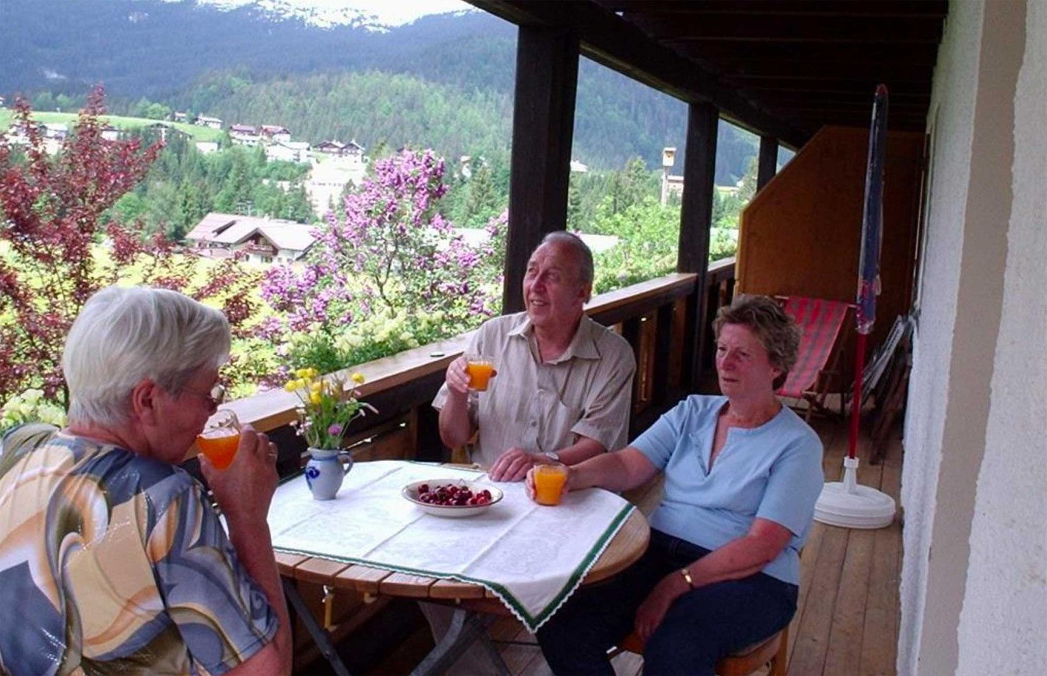 Ferienwohnung Typ B, Gästehaus Bergidyll, Werner Röhrer