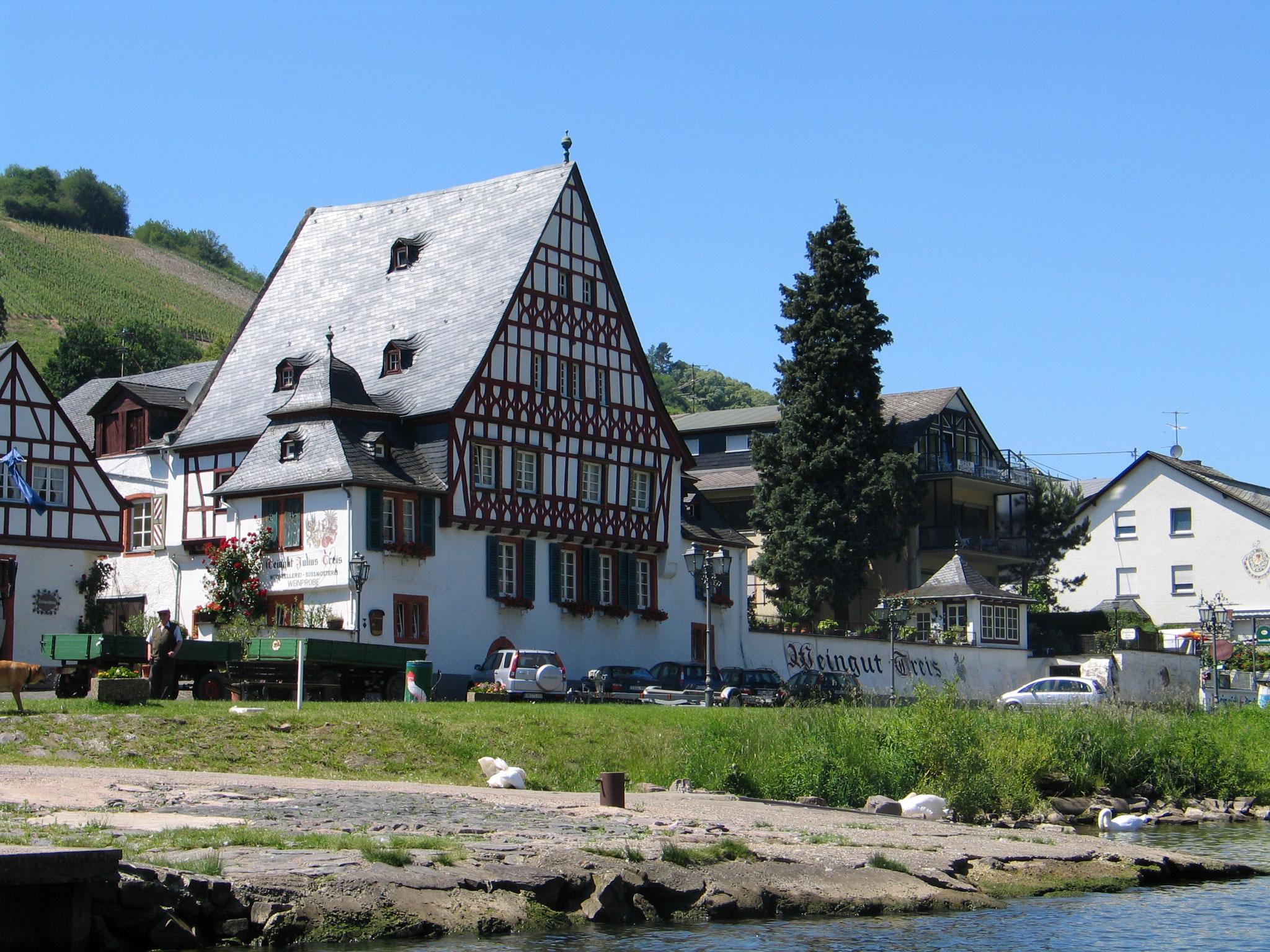 Traditionelles Fachwerkhaus im Zeller Stadtteil Kaimt