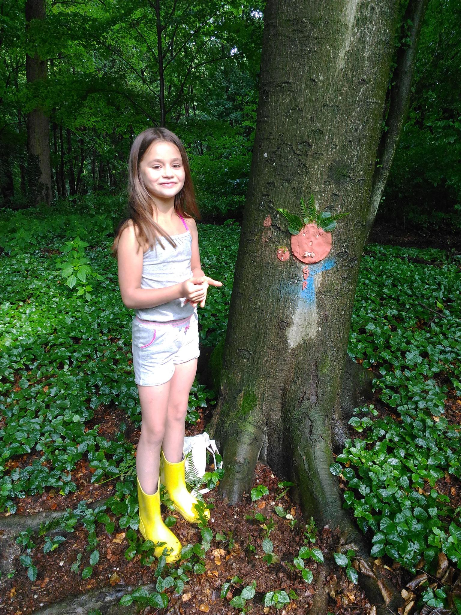 ARTii-kids boommonsters met Puur Avontuur Buiten BSO